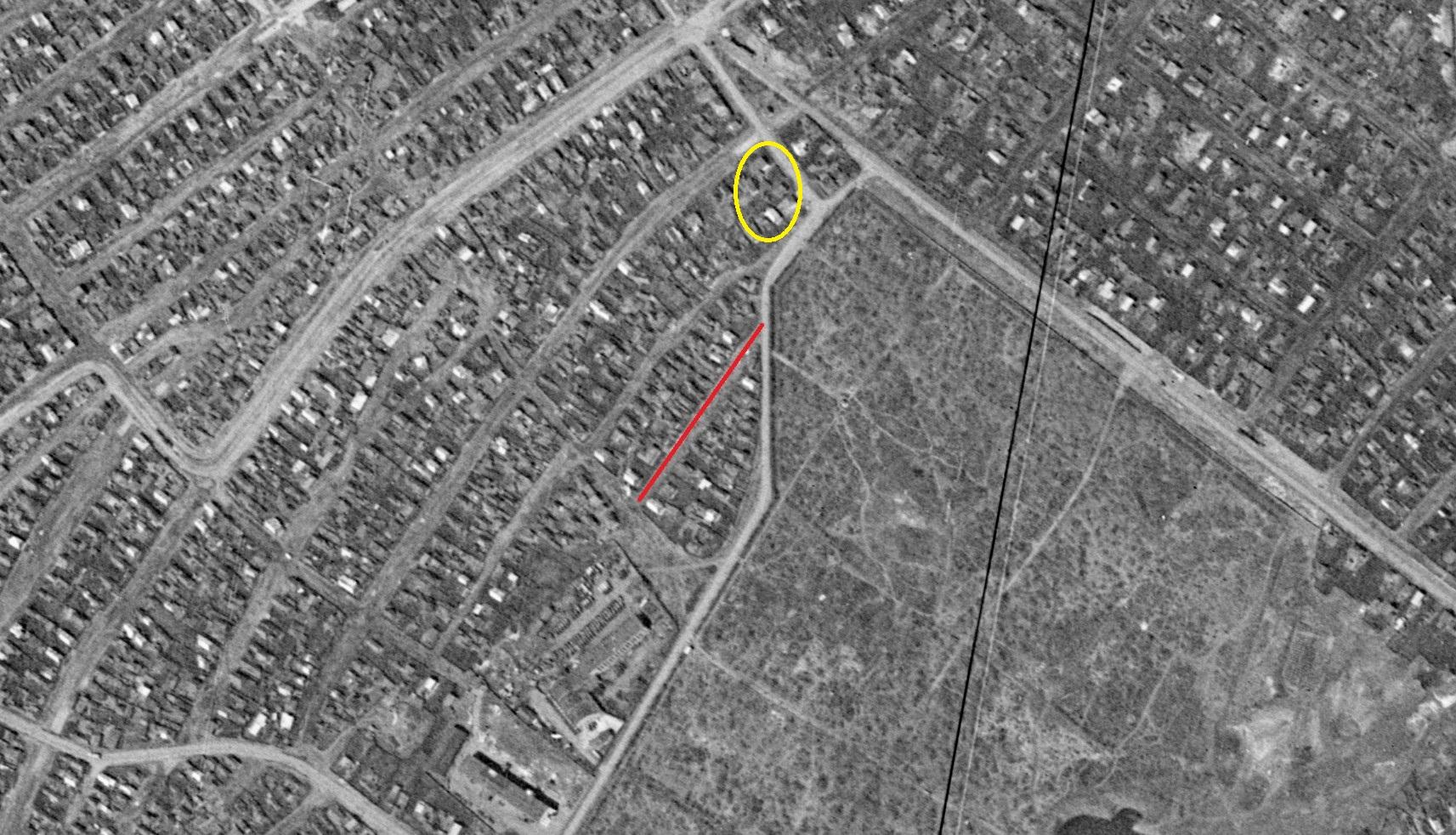 Улица Новая 2-я 1965 год