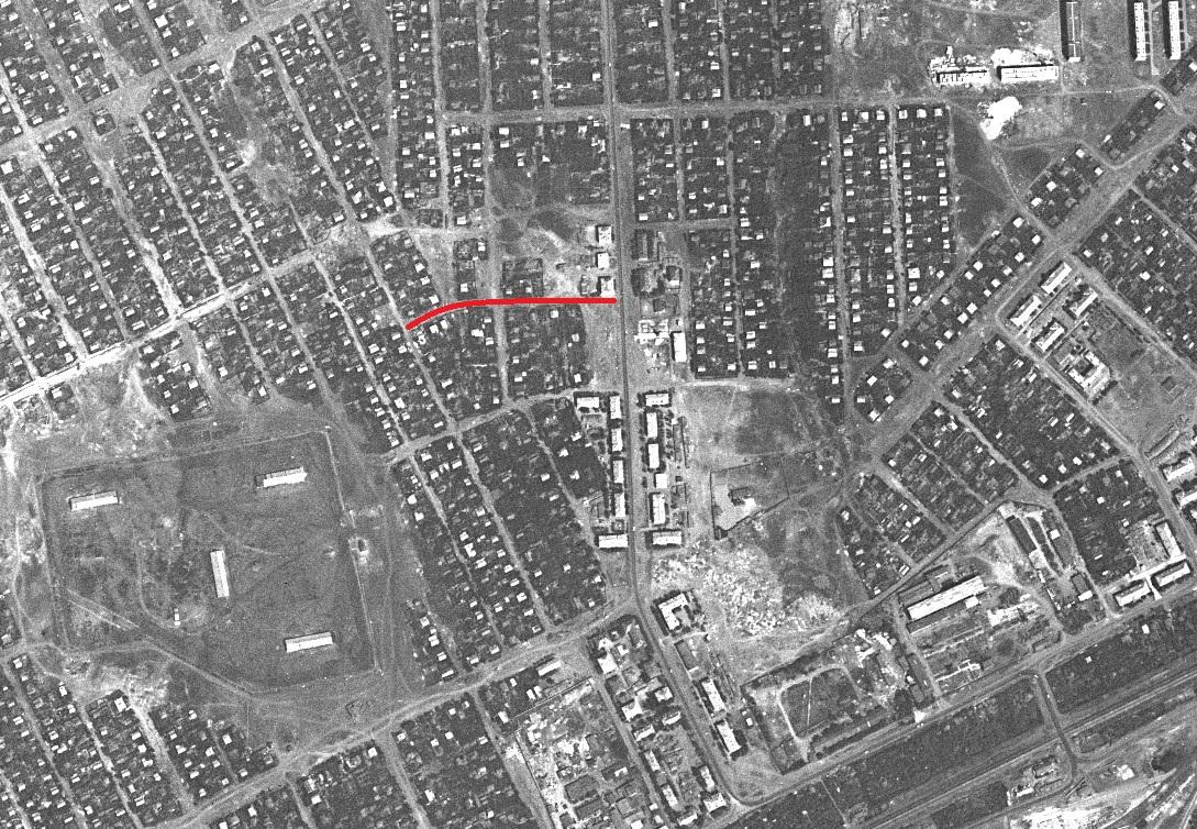 Новороссийский переулок 1967 год
