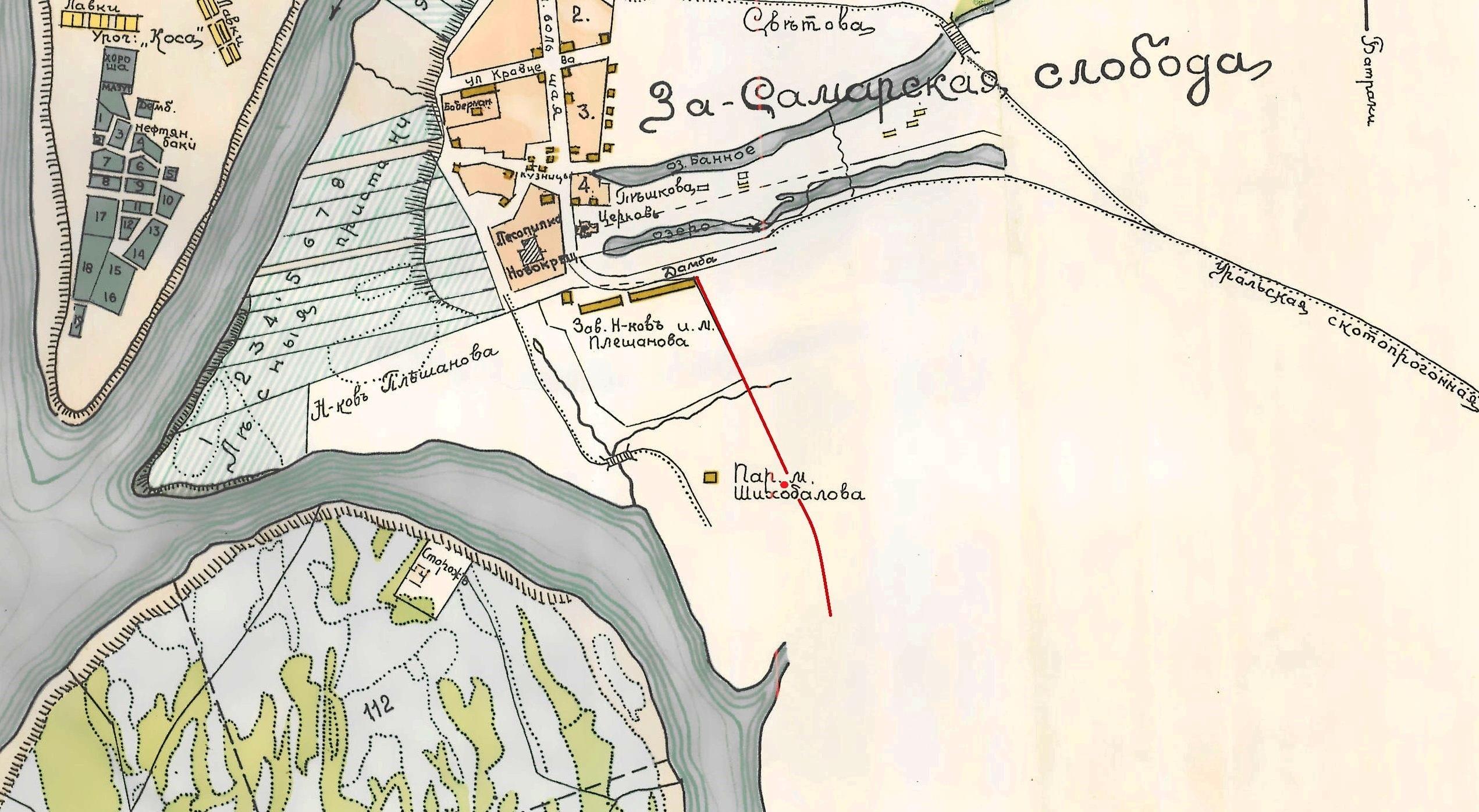 Карта-Самары-1910-года3
