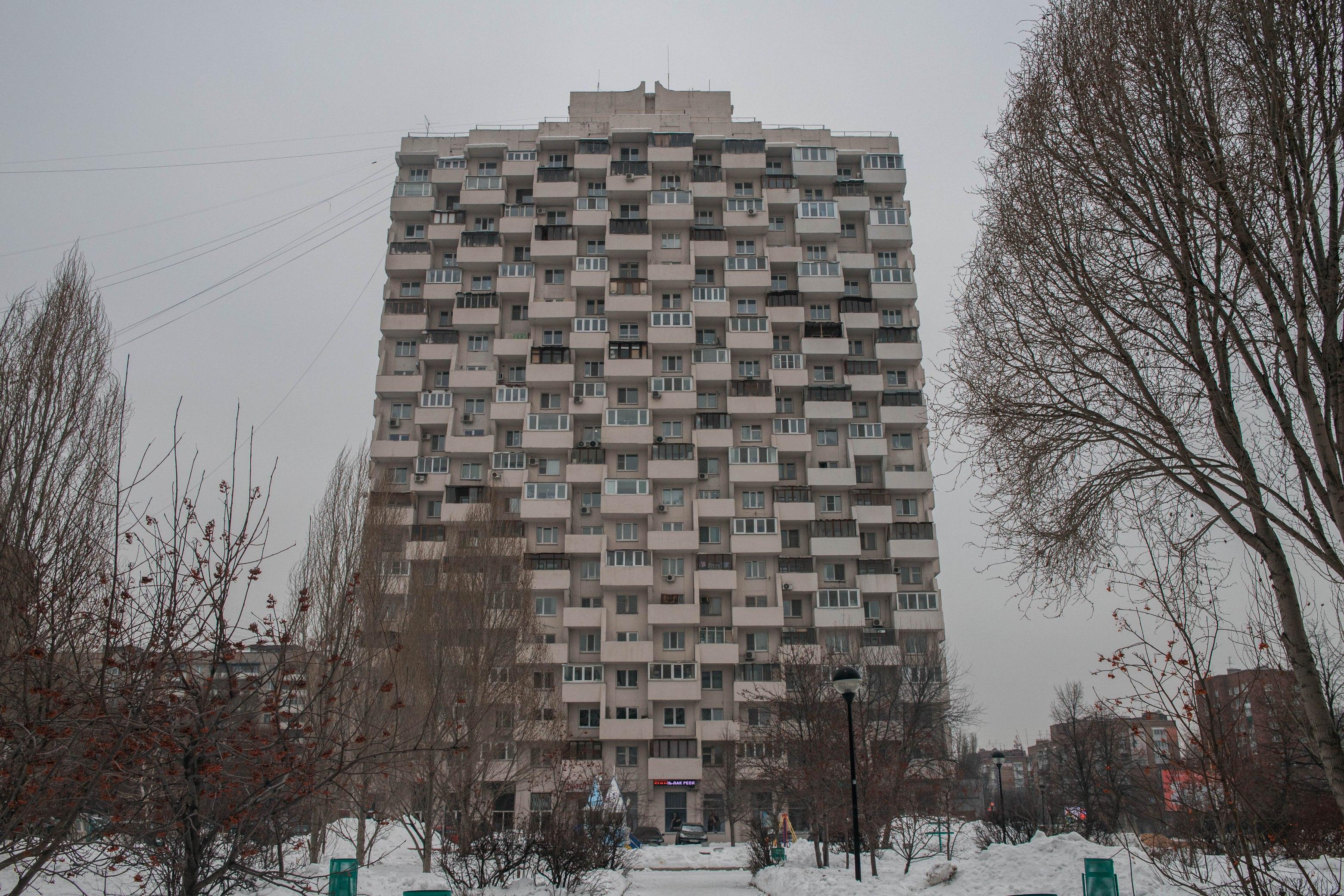 Рашпиль на улице Осипенко
