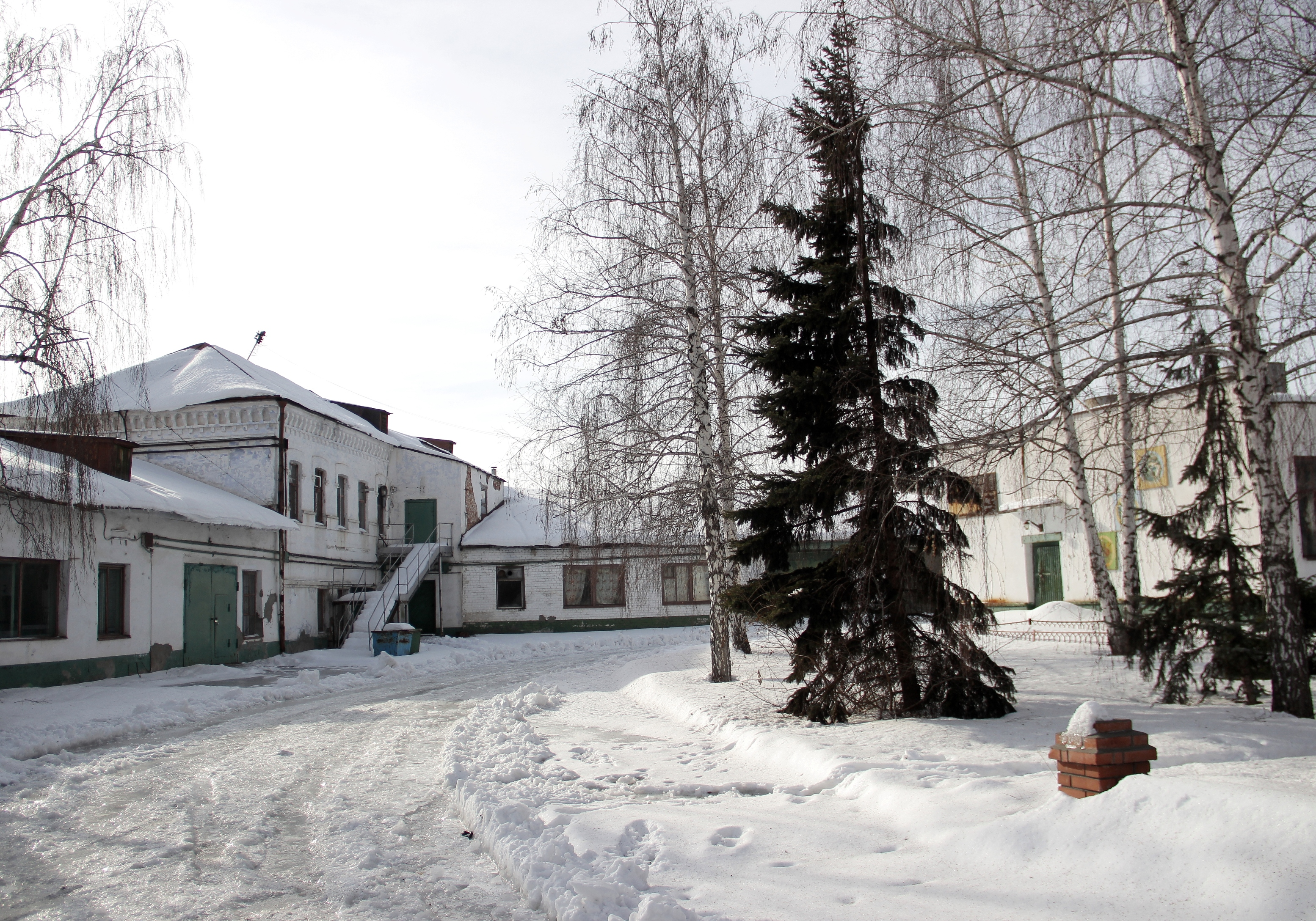 Территория бывшей мельницы Шихобалова