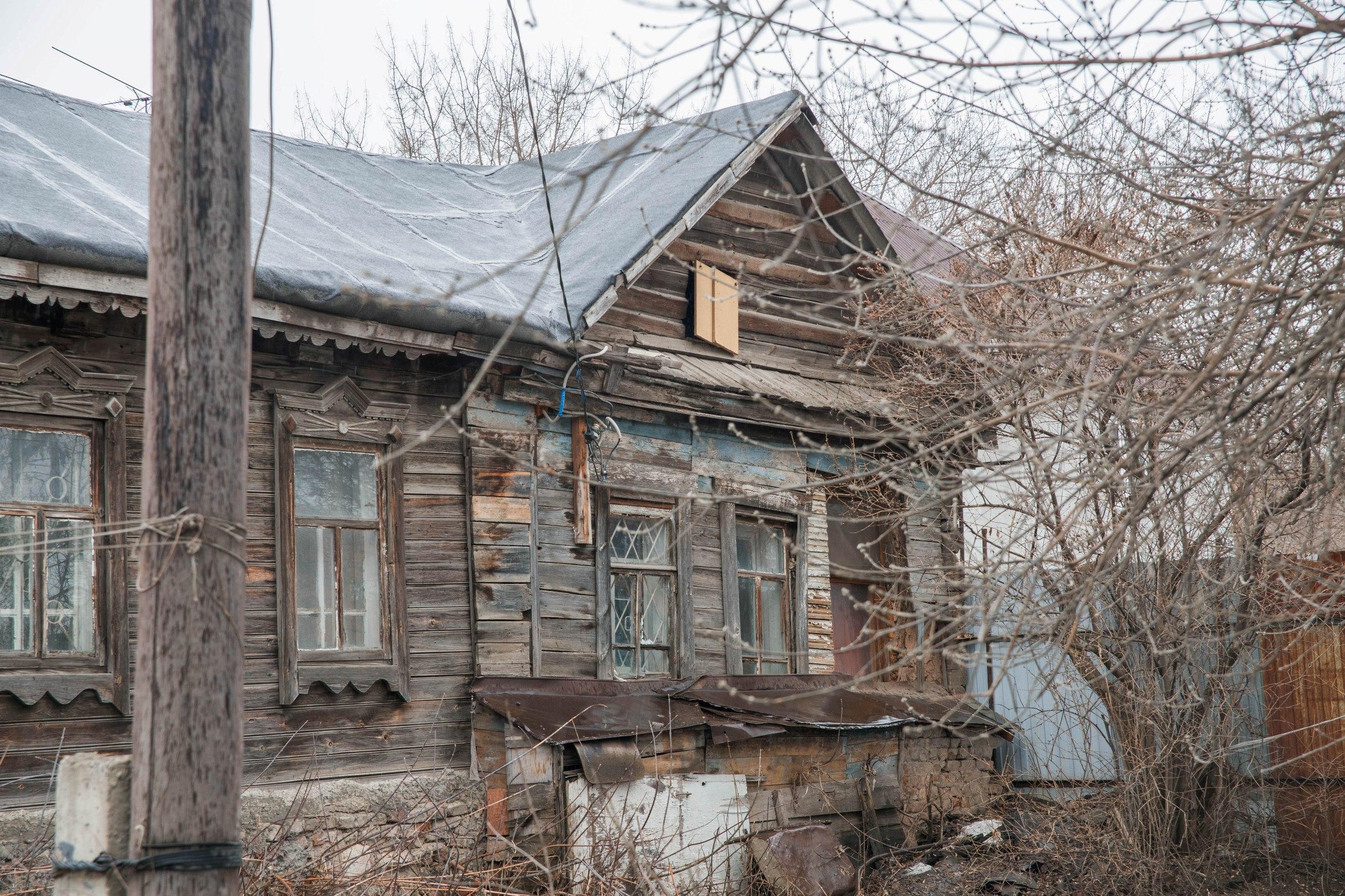 Довоенный дом на Партизанской