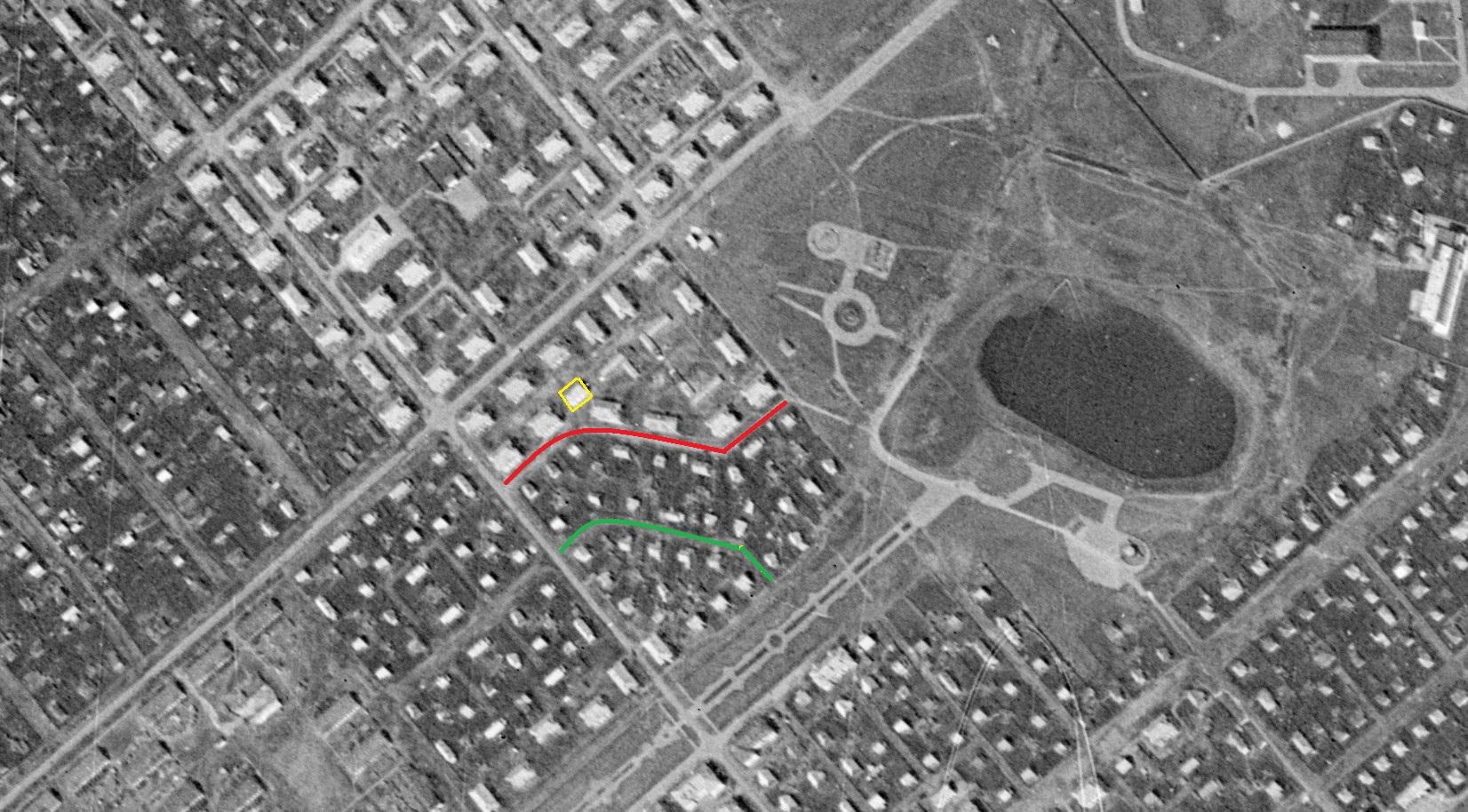 Карта 1965 года