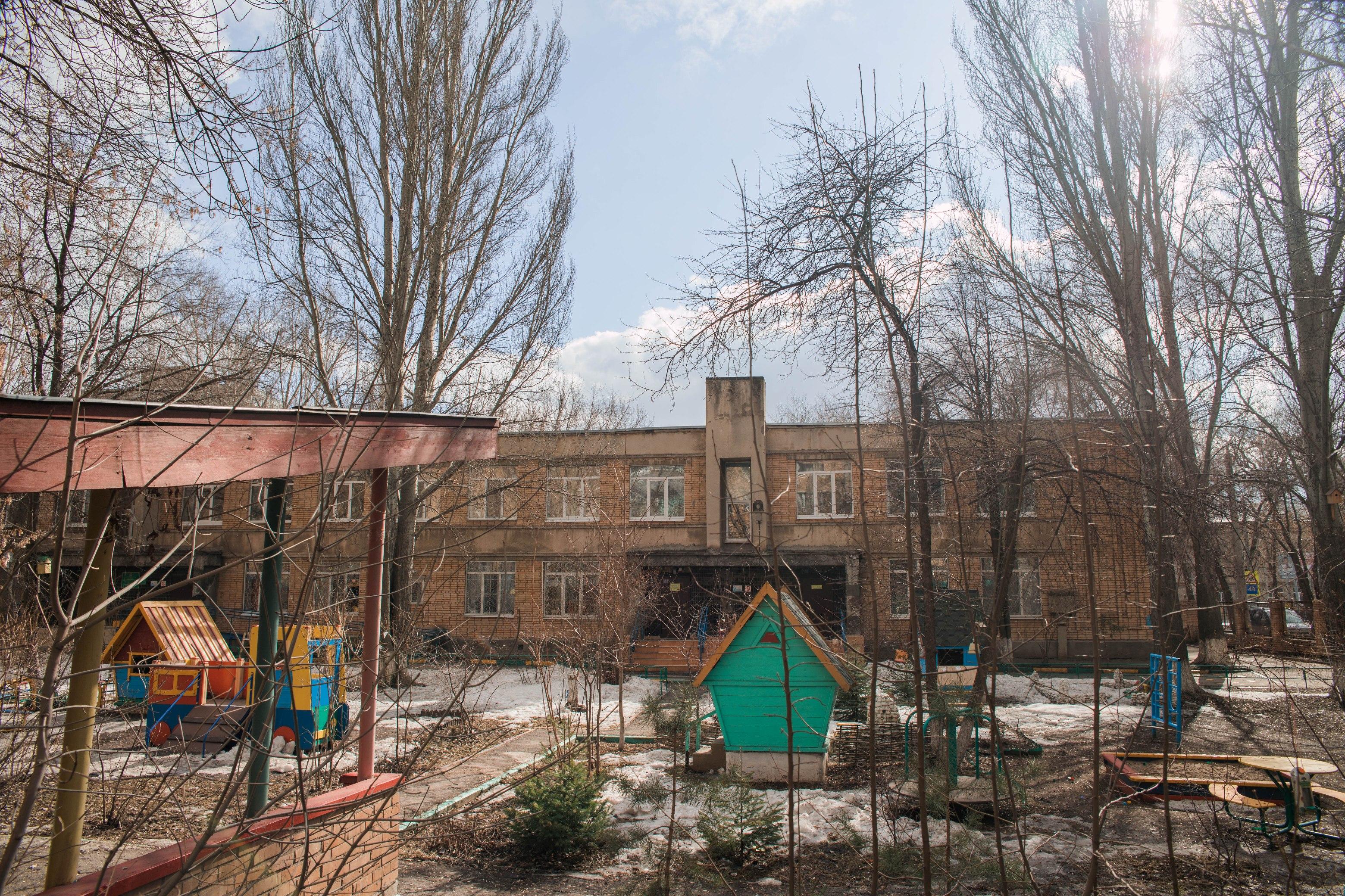 Детский сад на улице Печерской