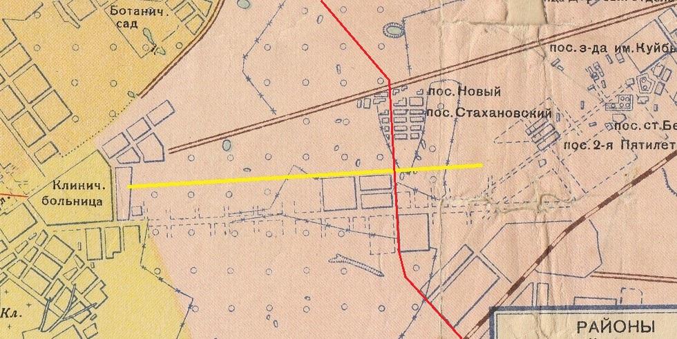 Карта 1940 года