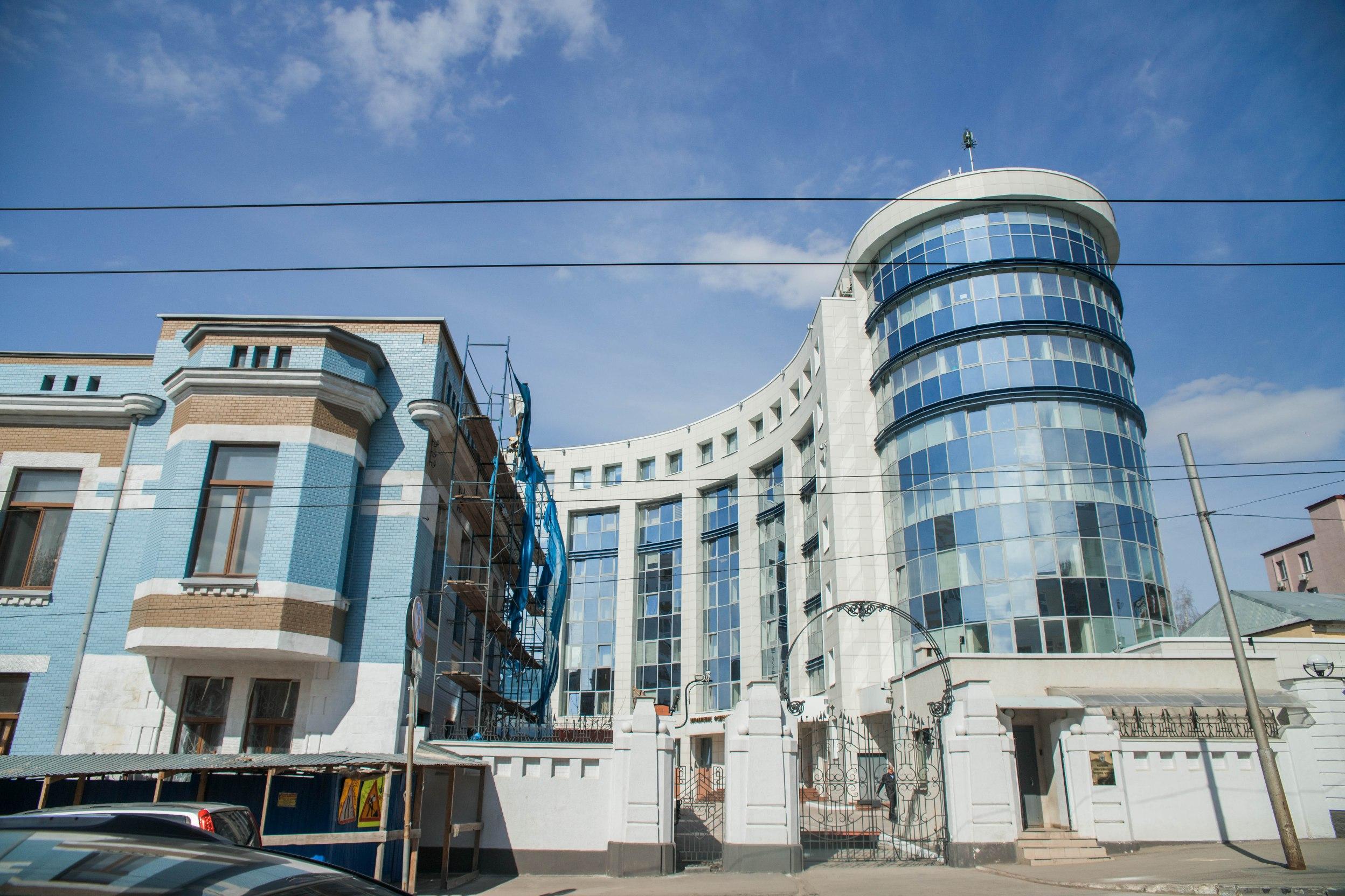 Новое здание Управление ФСБ