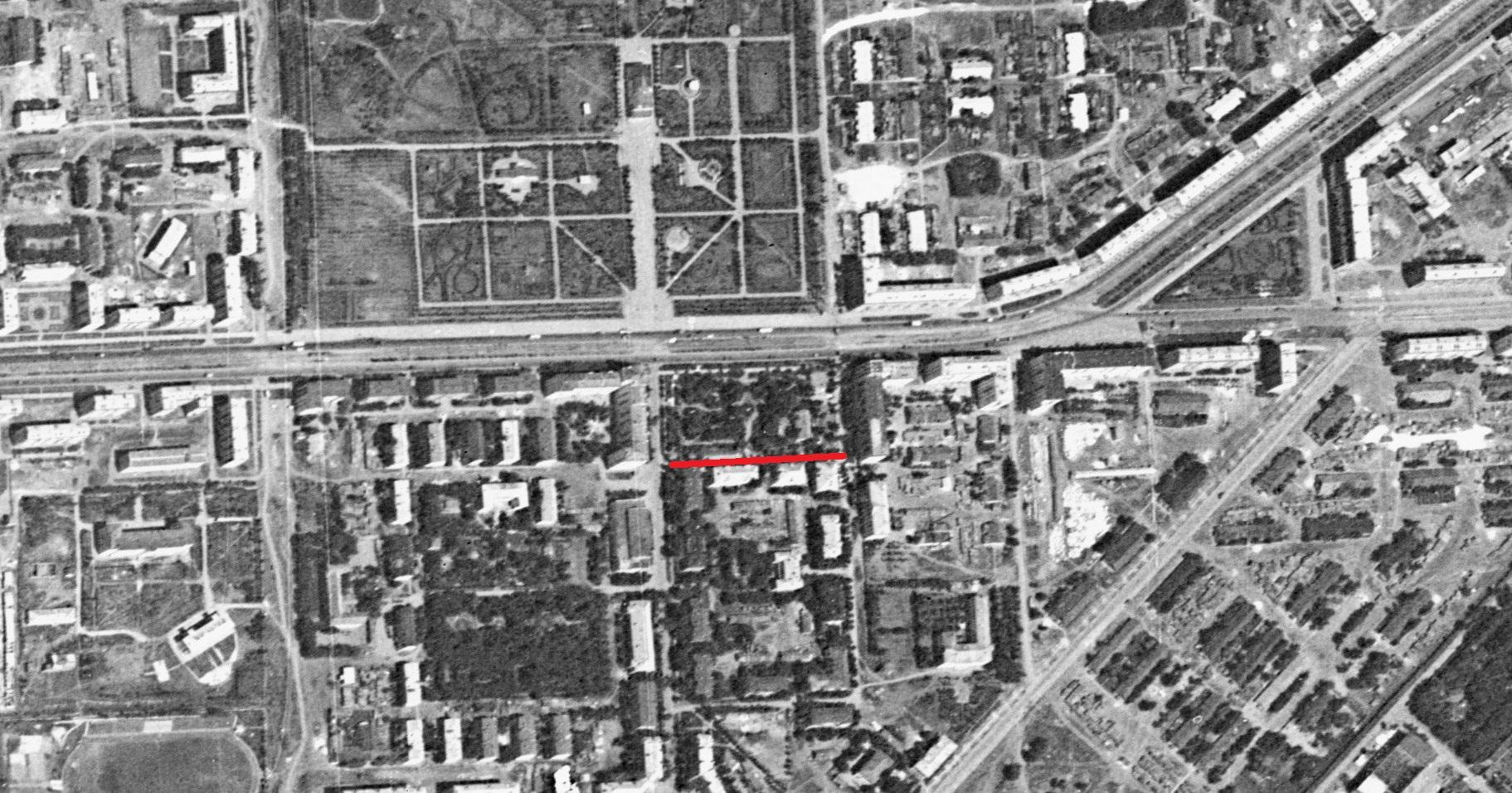 Планерный переулок 1966