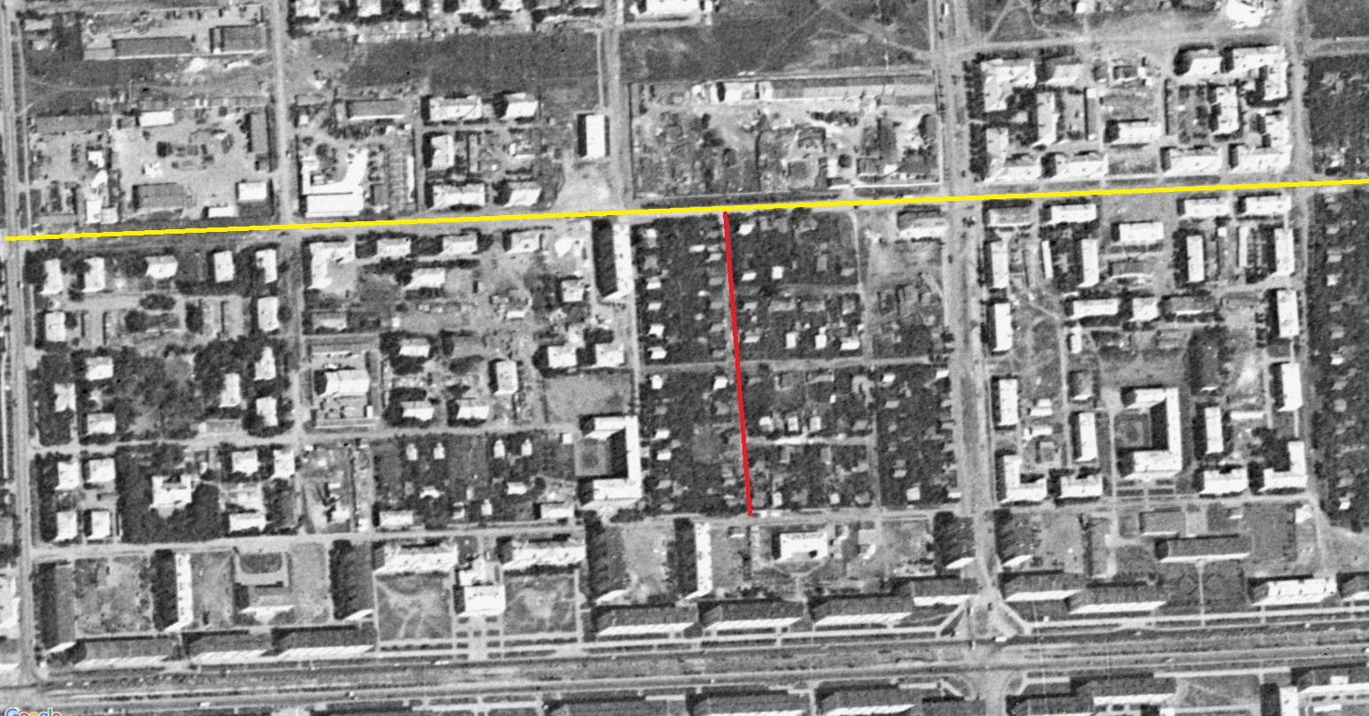 Улица Подзорная 1966 год