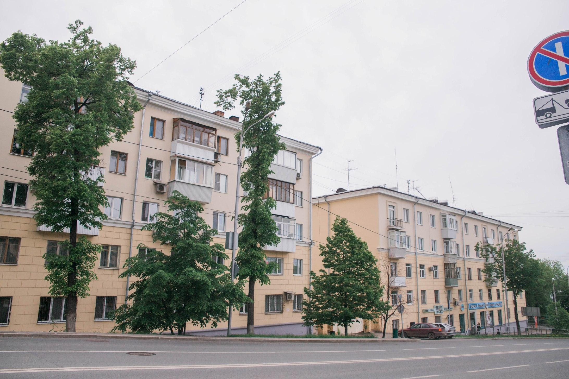 Дома №1 и 3 по улице Полевой