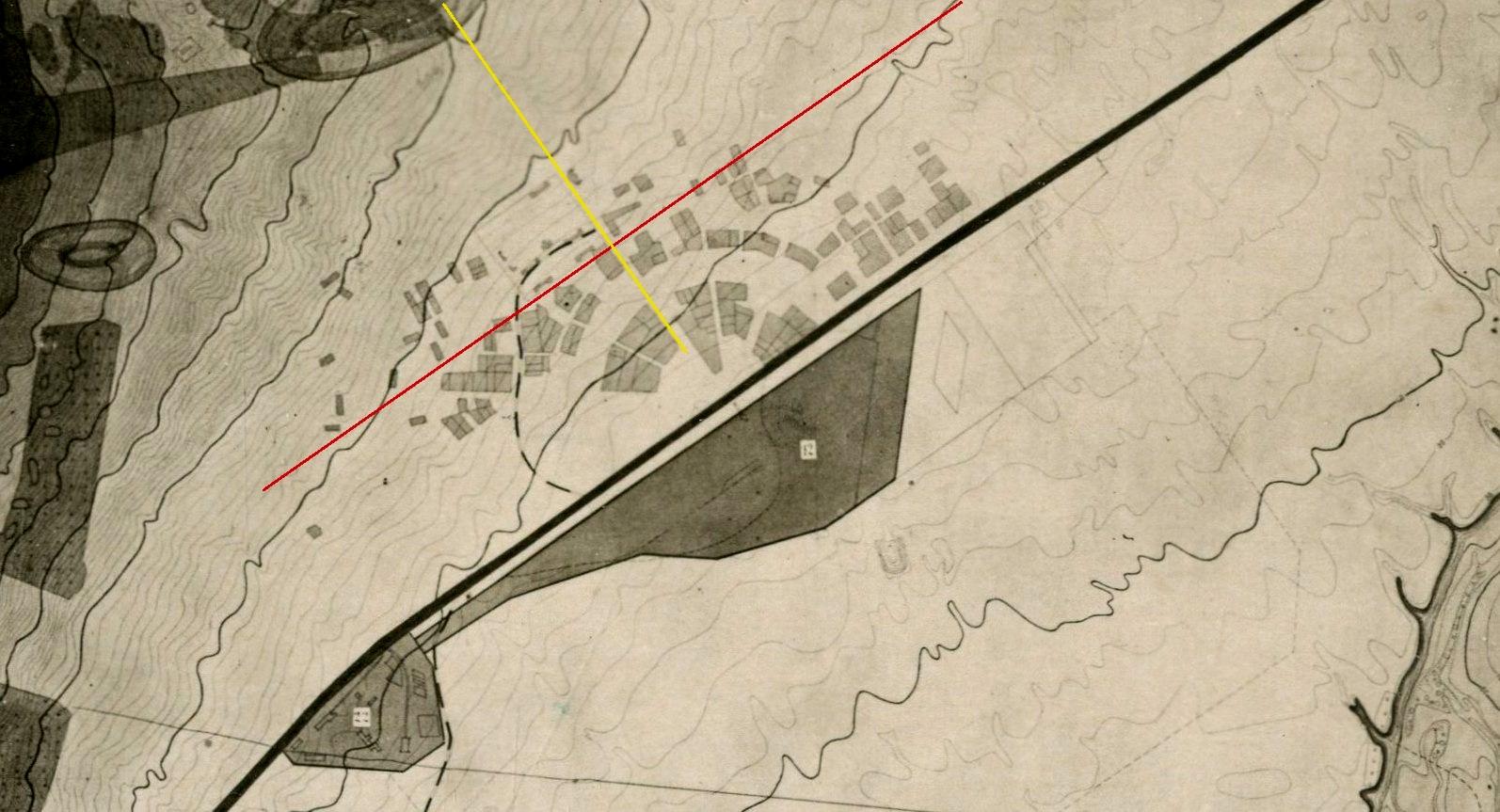 Карта Куйбышева 1937 года