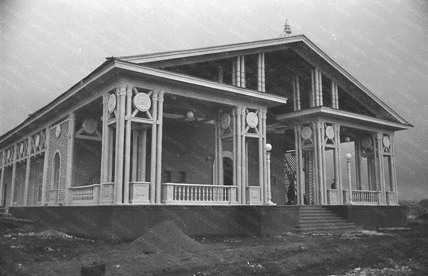 Летний кинотеатр Сокол Кировского р-на (фасад). 1949.