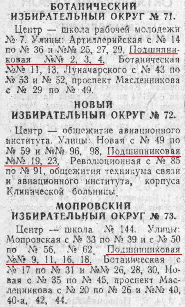 Подшипниковая-ФОТО-33-выборы-1965