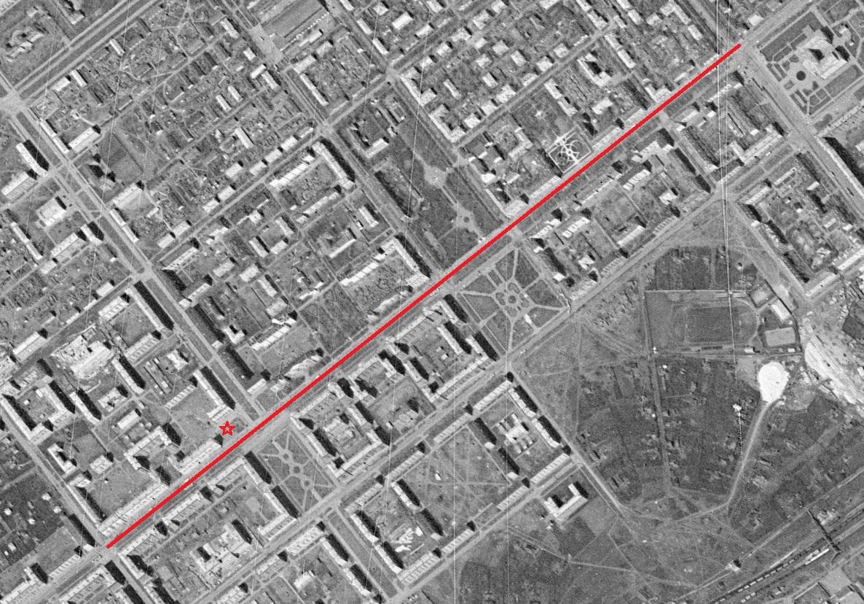 Середина улицы Победы
