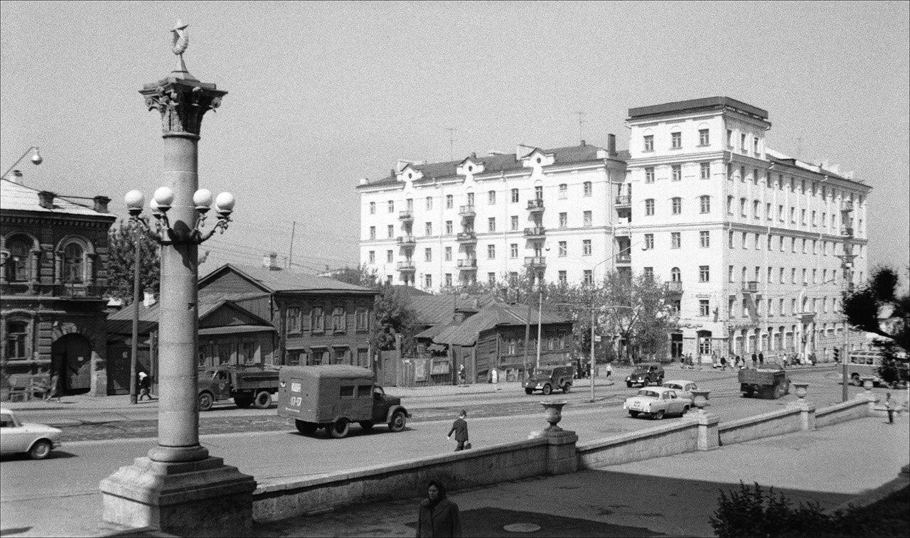 Улица Полевая в 1968 году