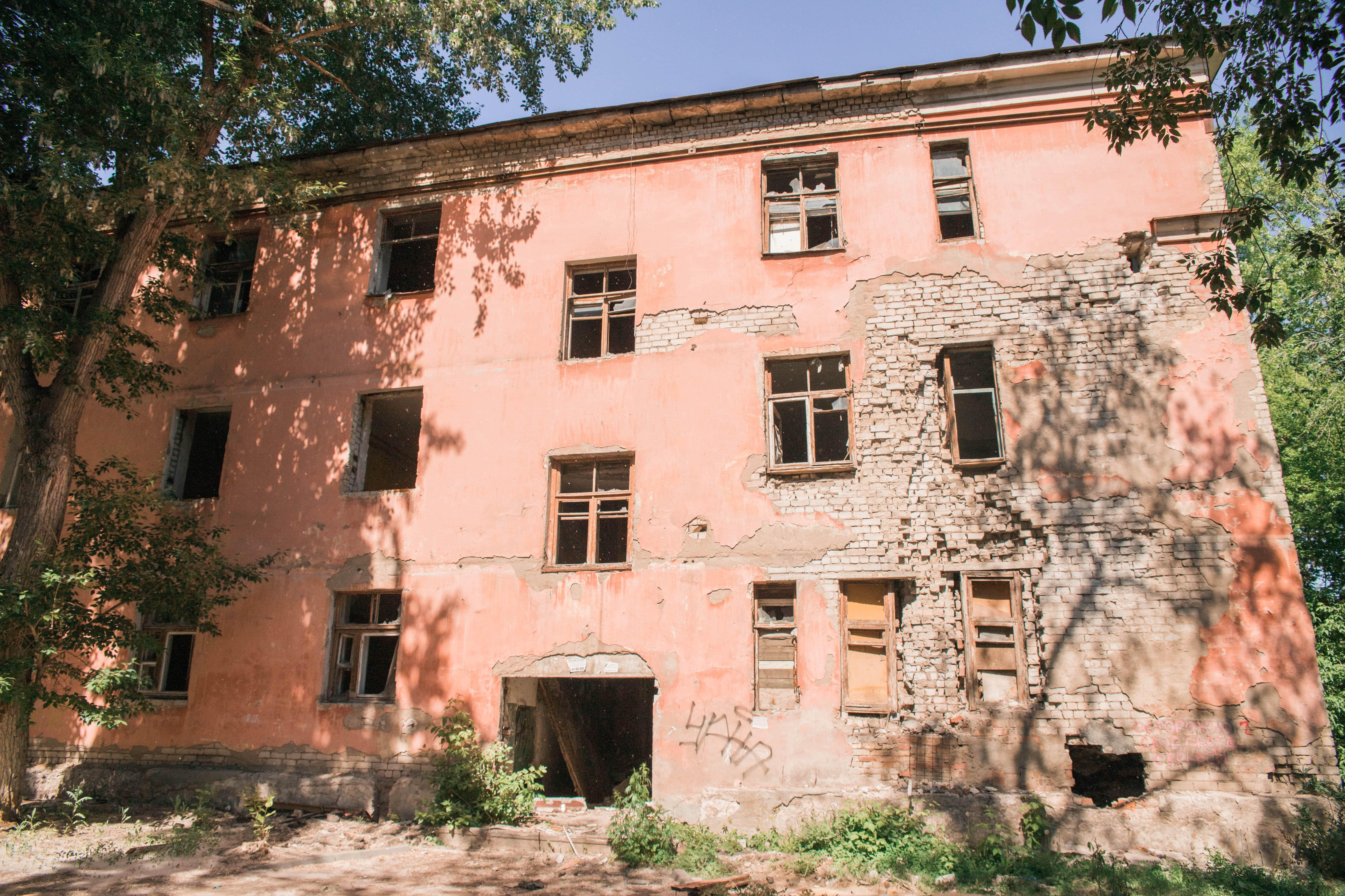 Заброшенное общежитие