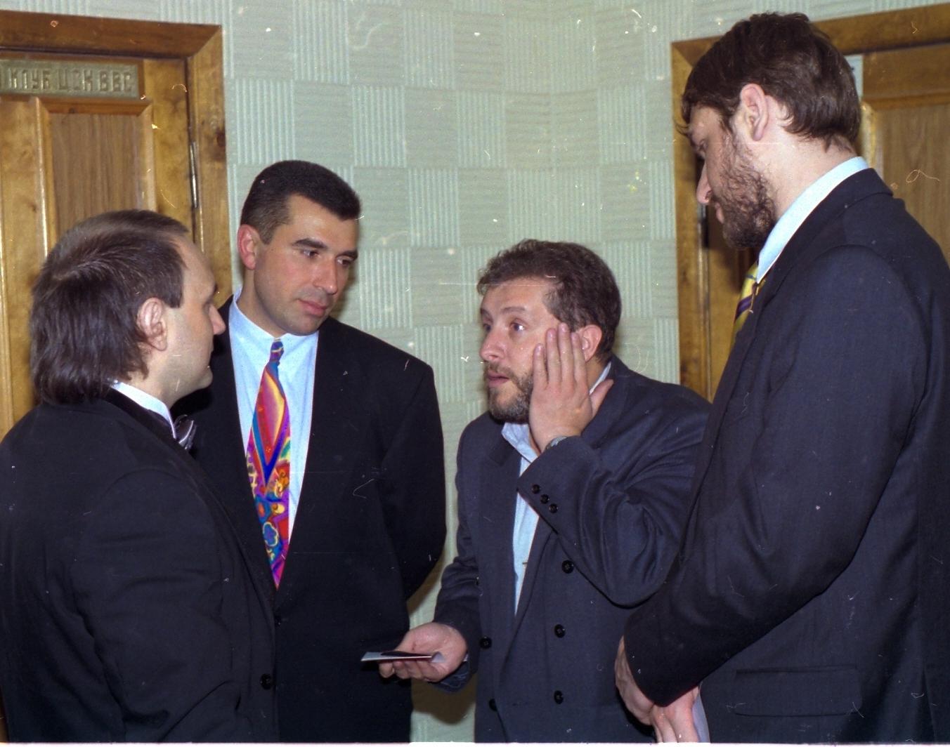 Князев, Аветисян, Добрусин, Фейгин
