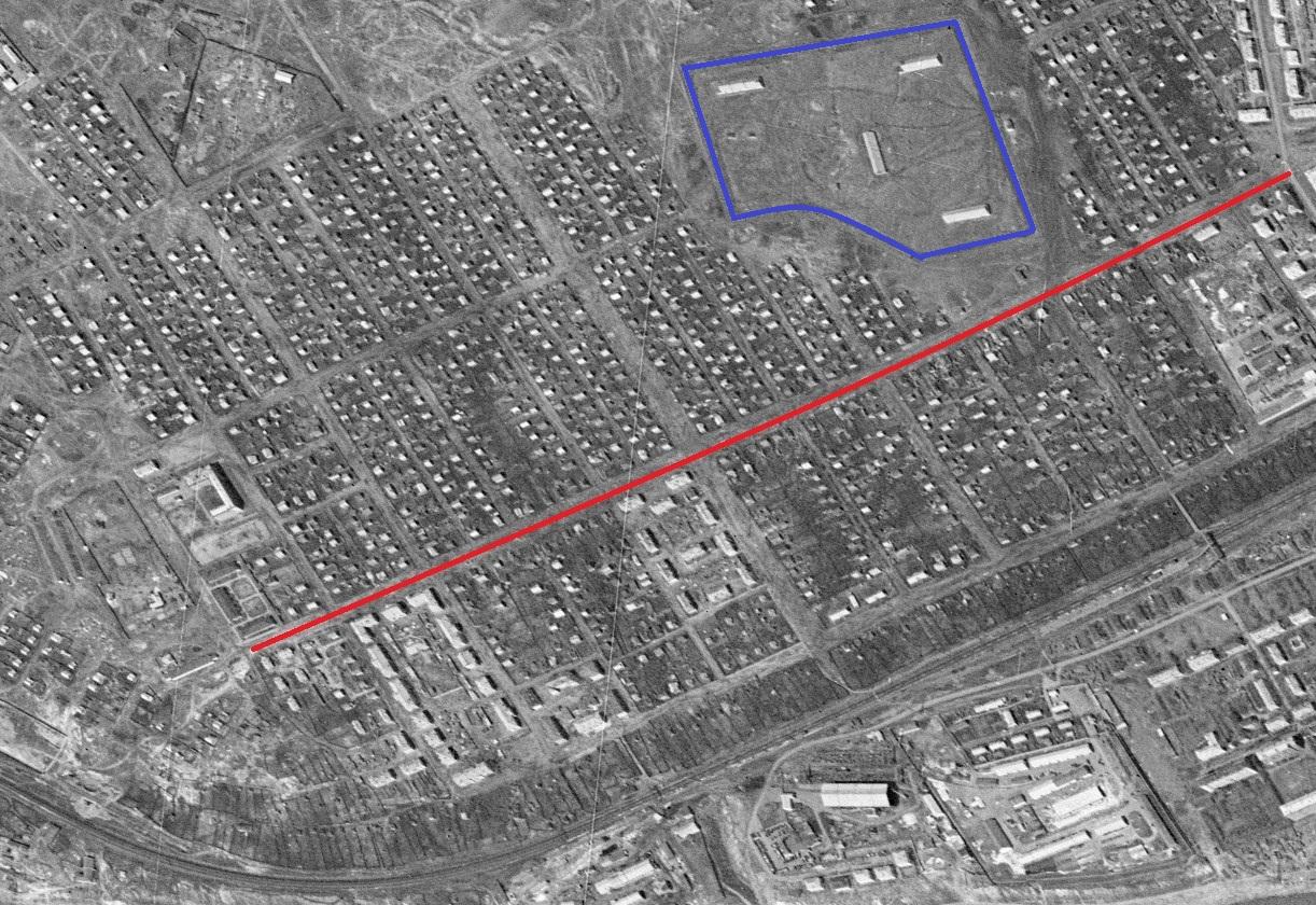Улица Промышленности 1965 год