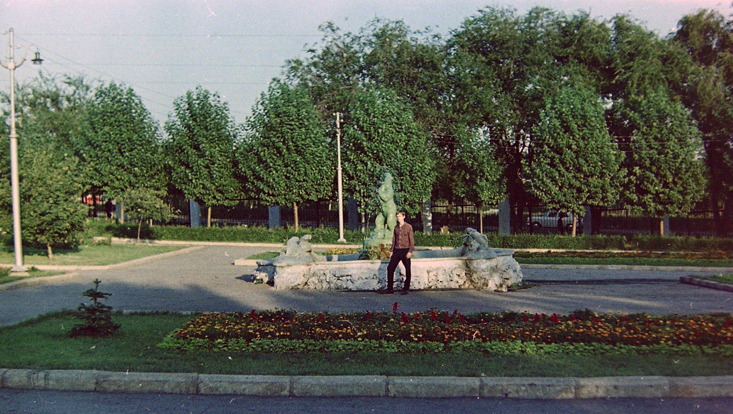Утраченный фонтан в Загородном парке