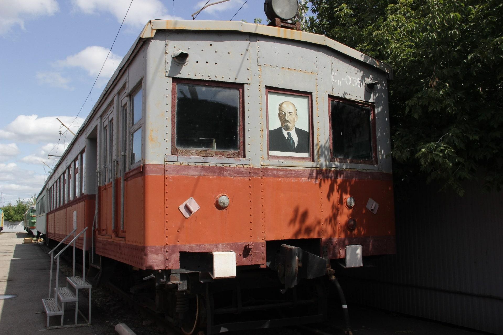 Электропоезд Сд 035