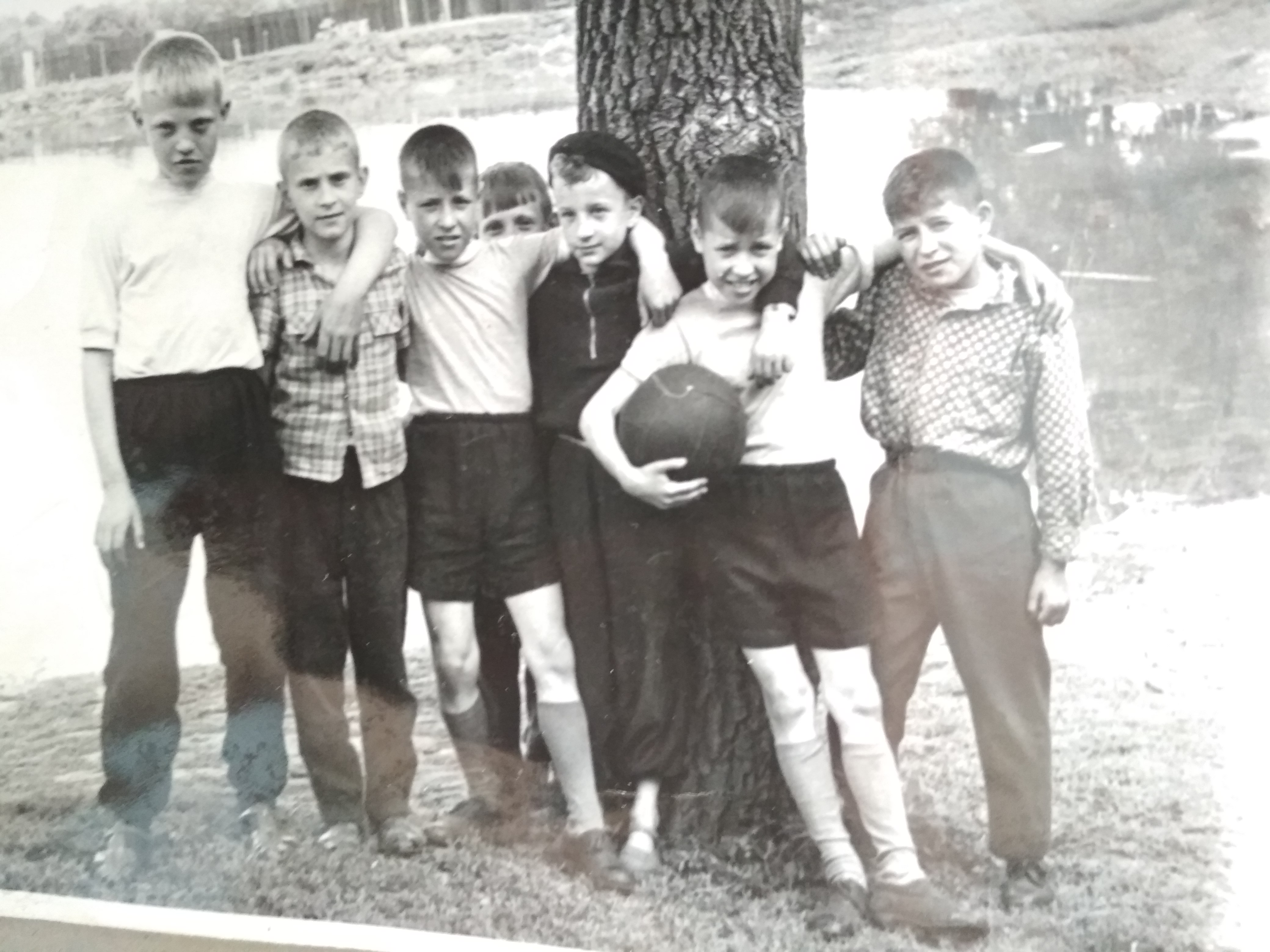 дворовая футбольная команда