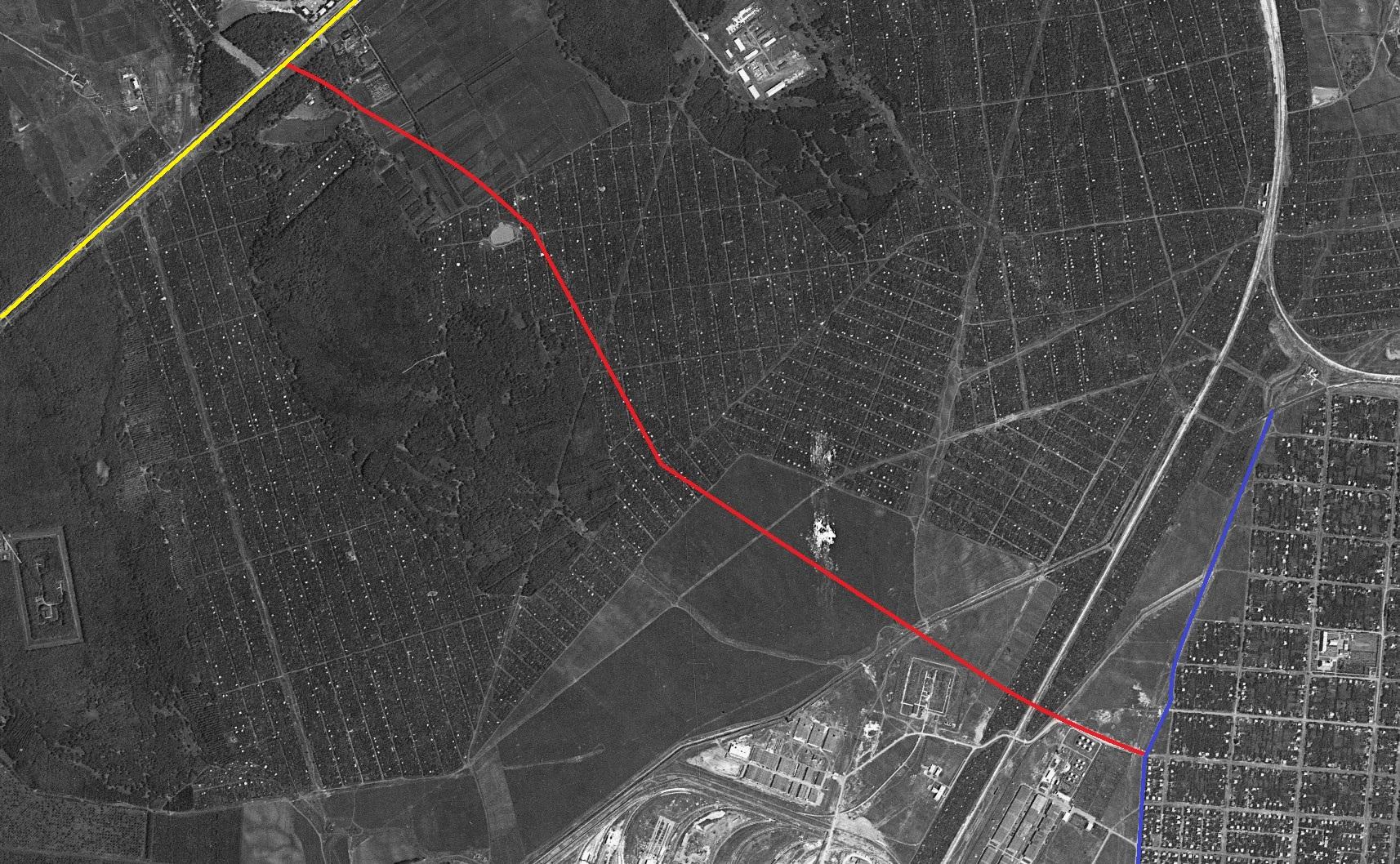 Карта 1966 года