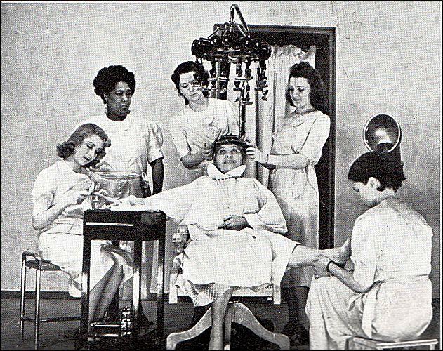 Маникюрный салон в США 1930 е годы