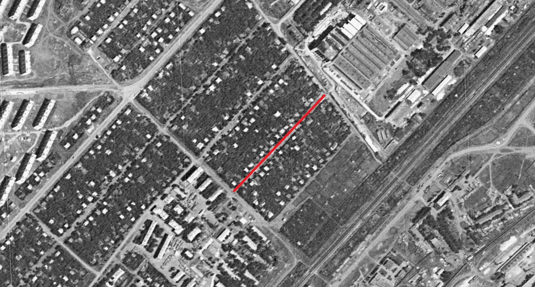 Раменский переулок 1966  года
