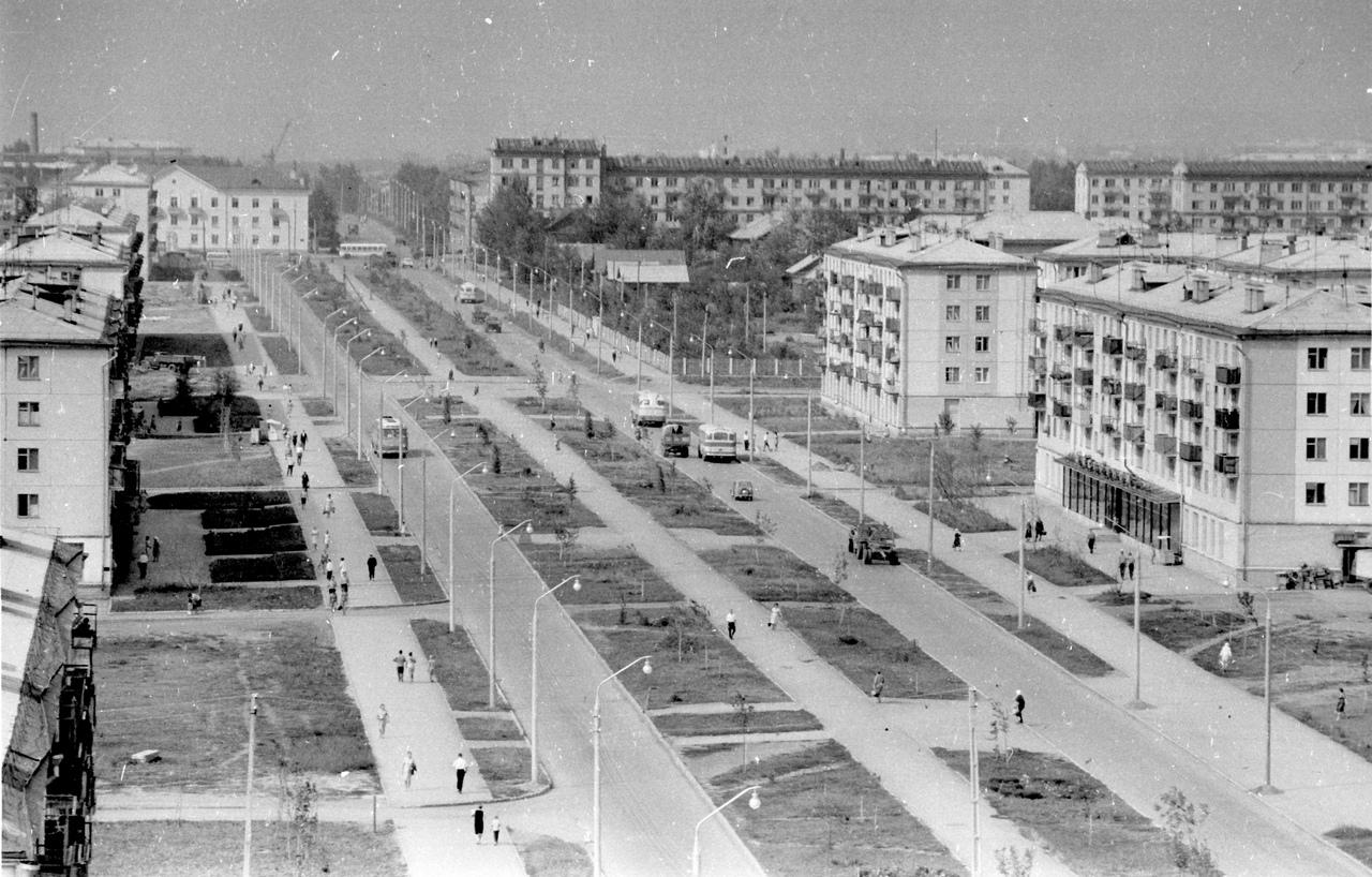Революционная-ФОТО-46-Куйбышев-1965-панорама ул. Революционной