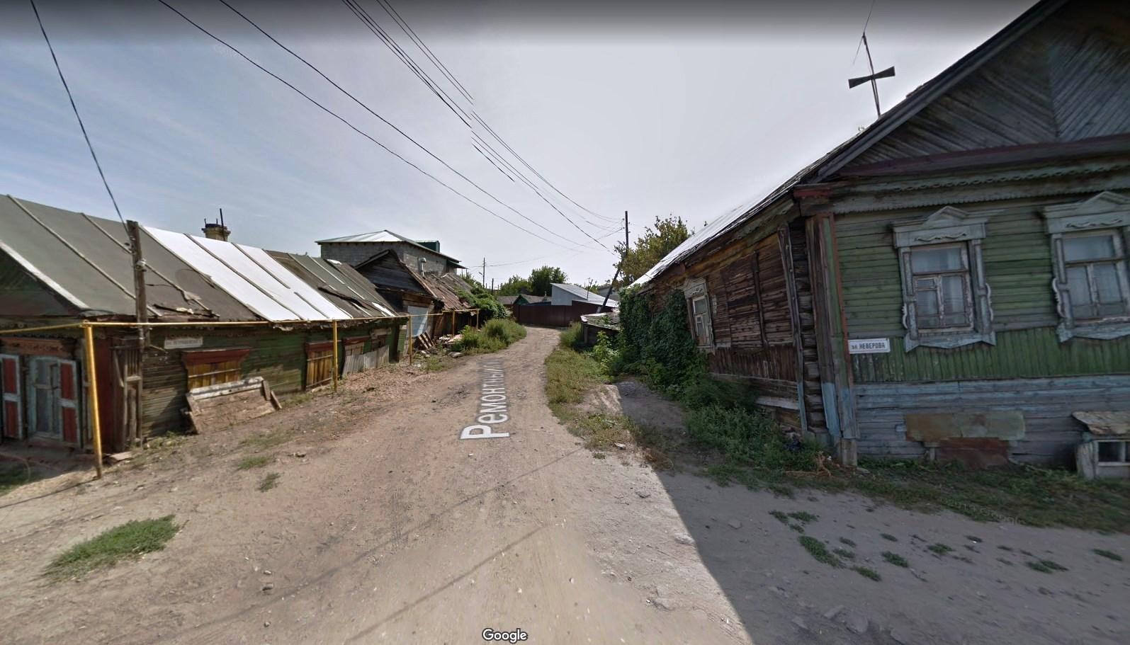 Ремонтный переулок от Неверовской
