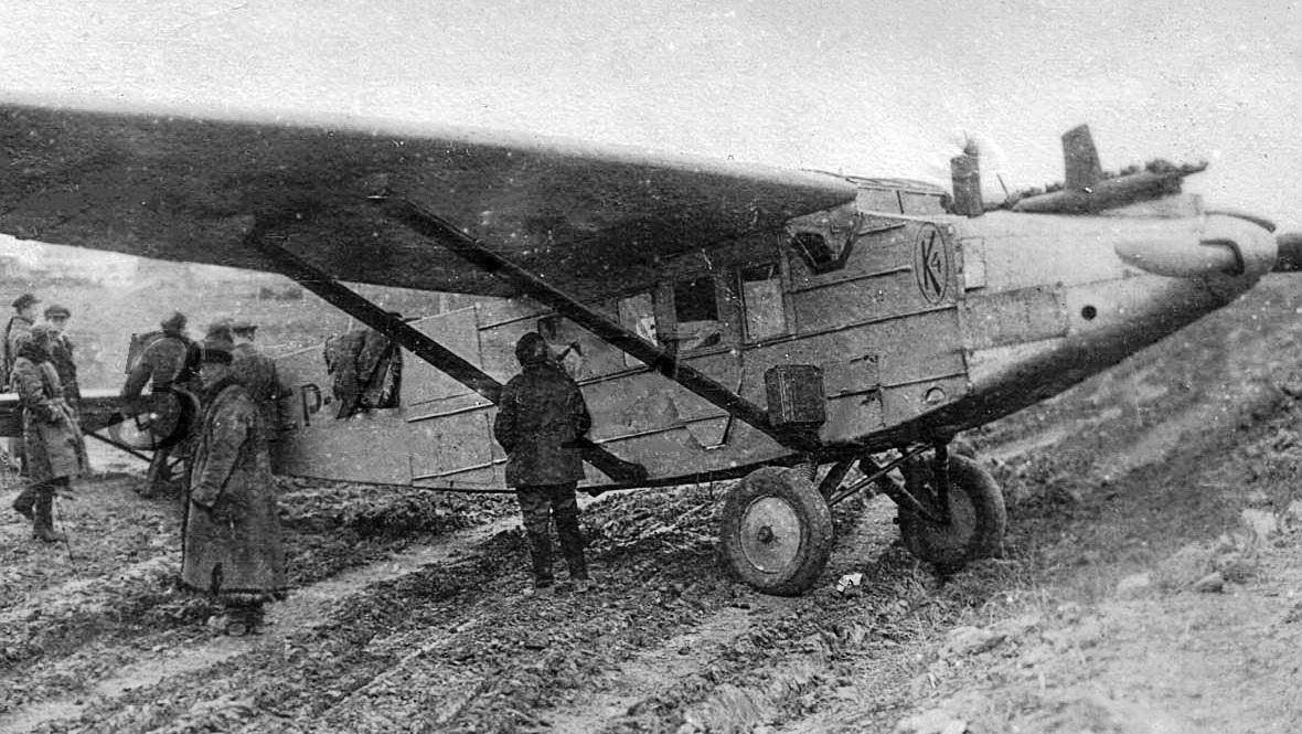 11 Самолёт К-4