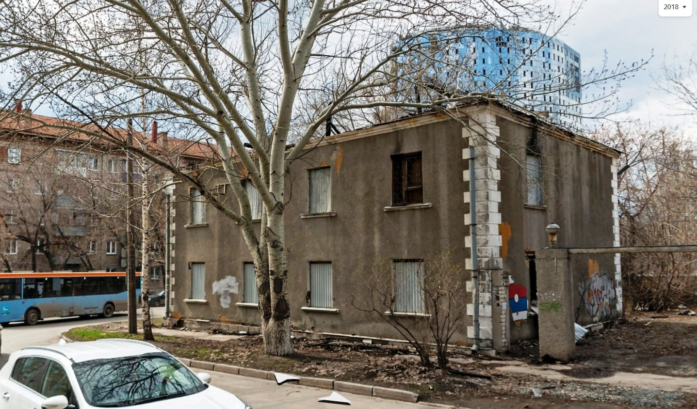 Бандитский особняк на улице Салтыкова-Щедрина