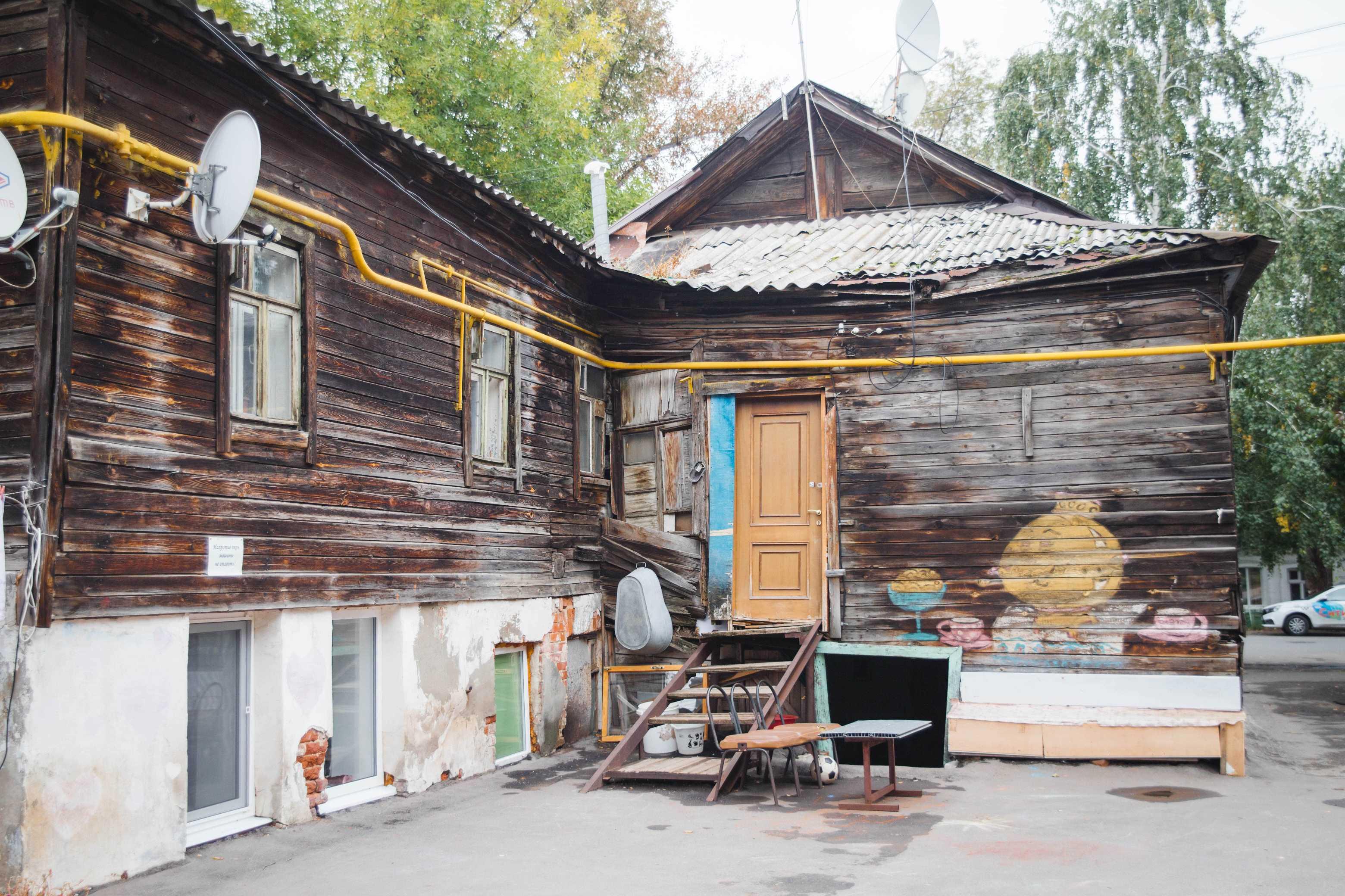 Двор на улице Садовой