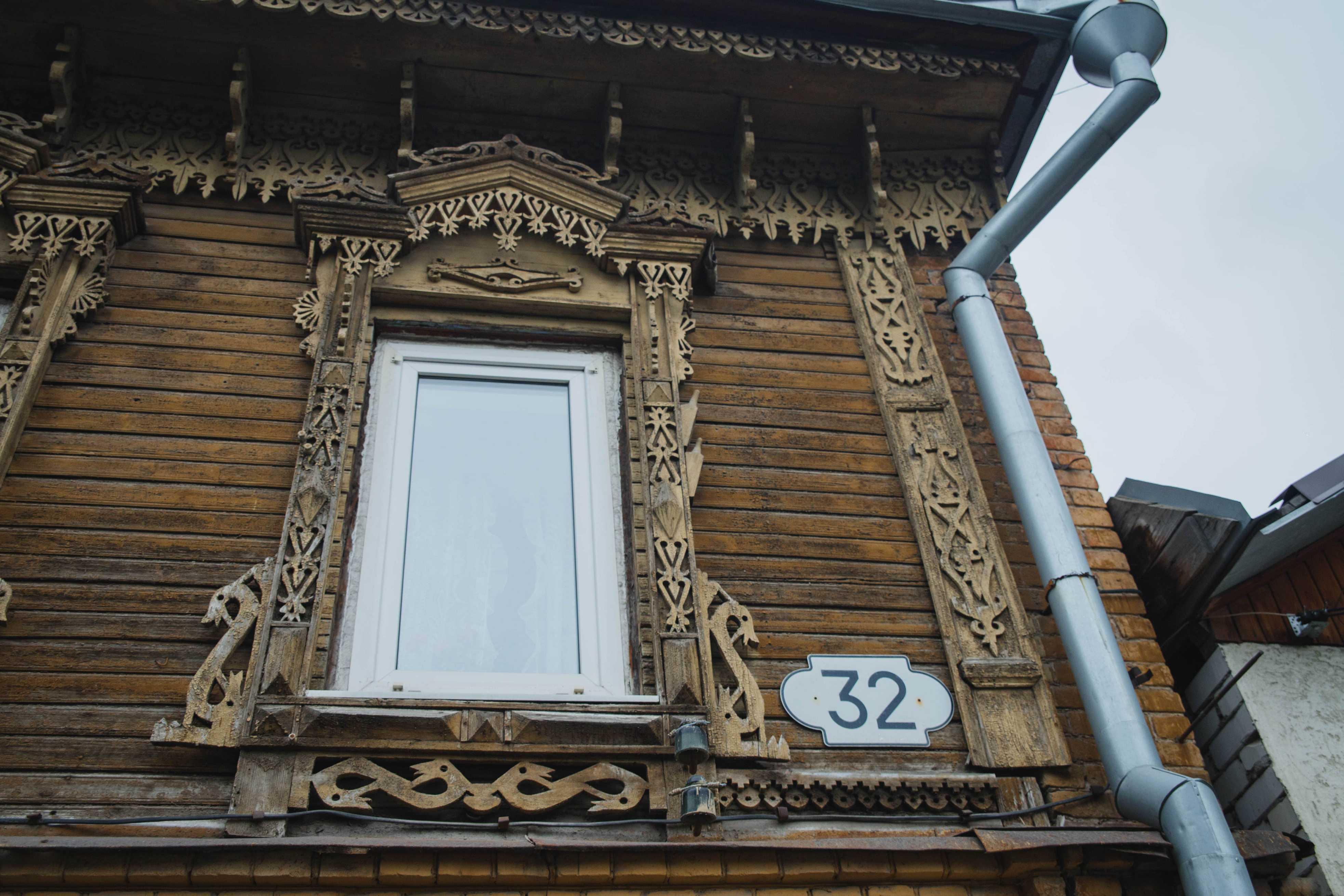 Деревянное зодчество улицы Садовой