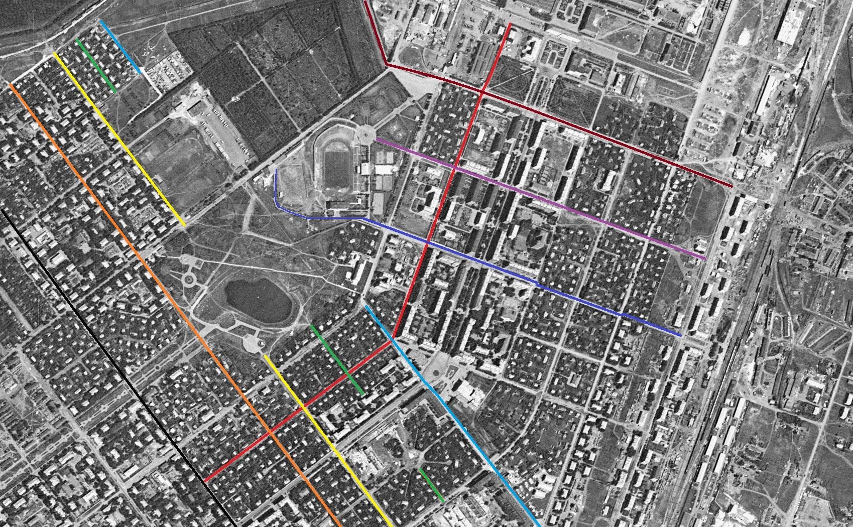 Улица Республиканская 1966 год