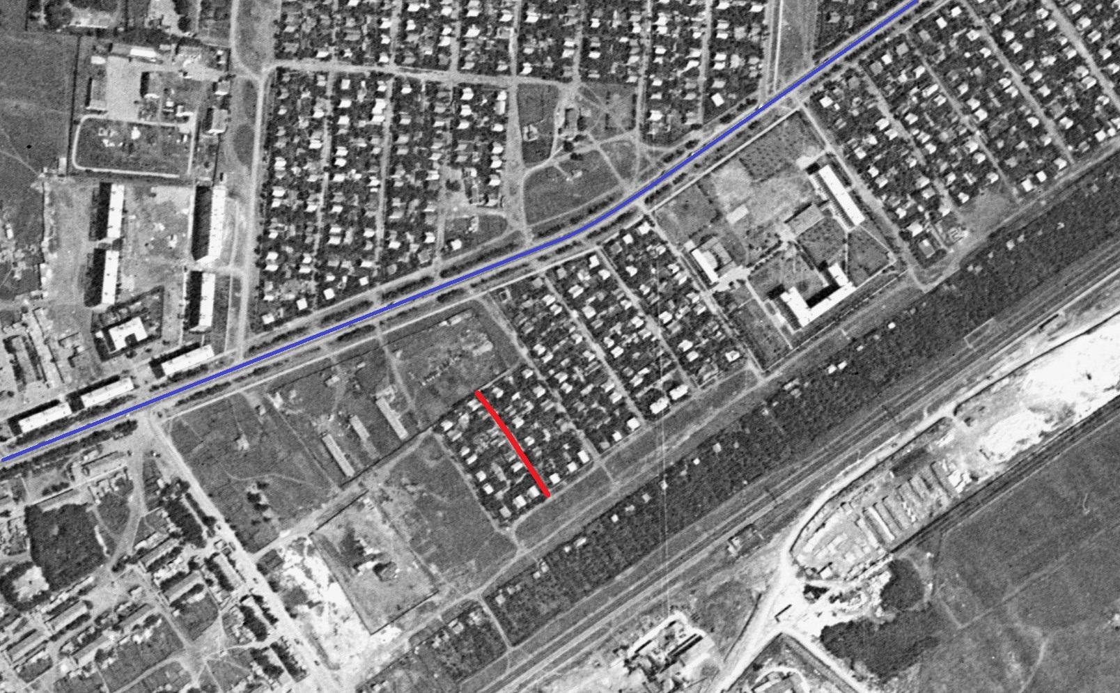 Улица Рудная 1966 год