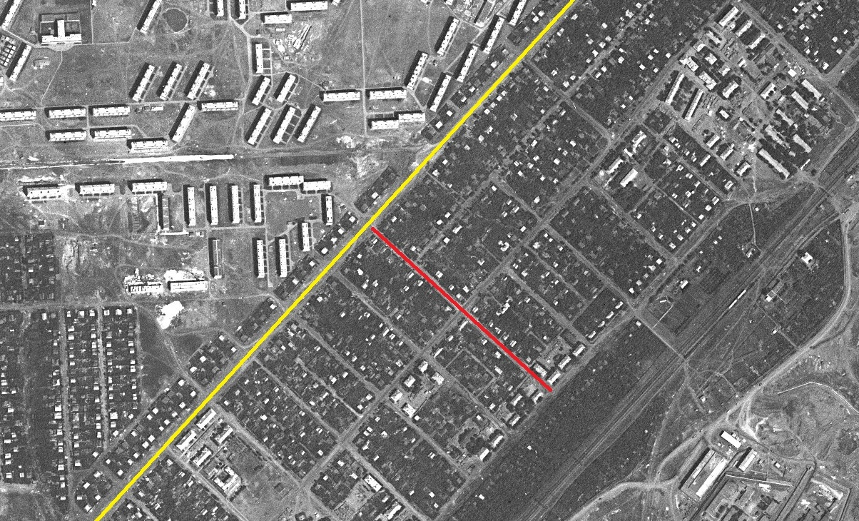 Улица Русская 1967 год