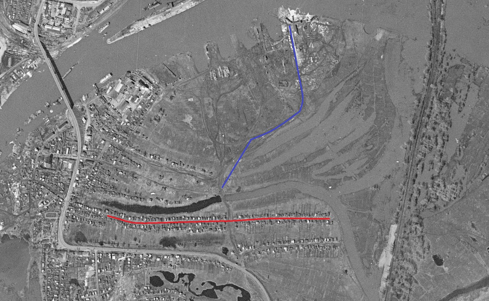 1965 год спутниковый снимок