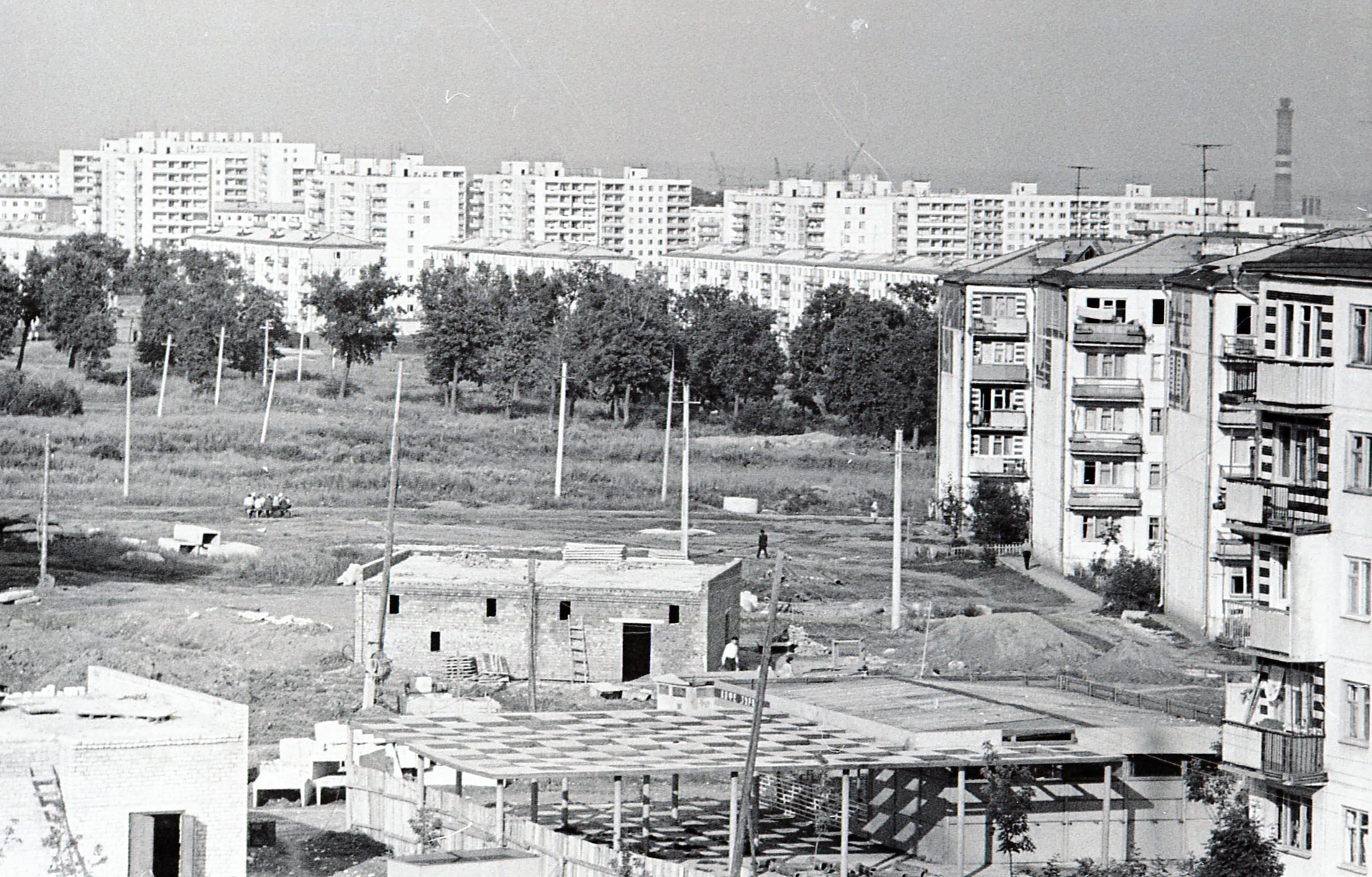 Вид на Воронежские озера