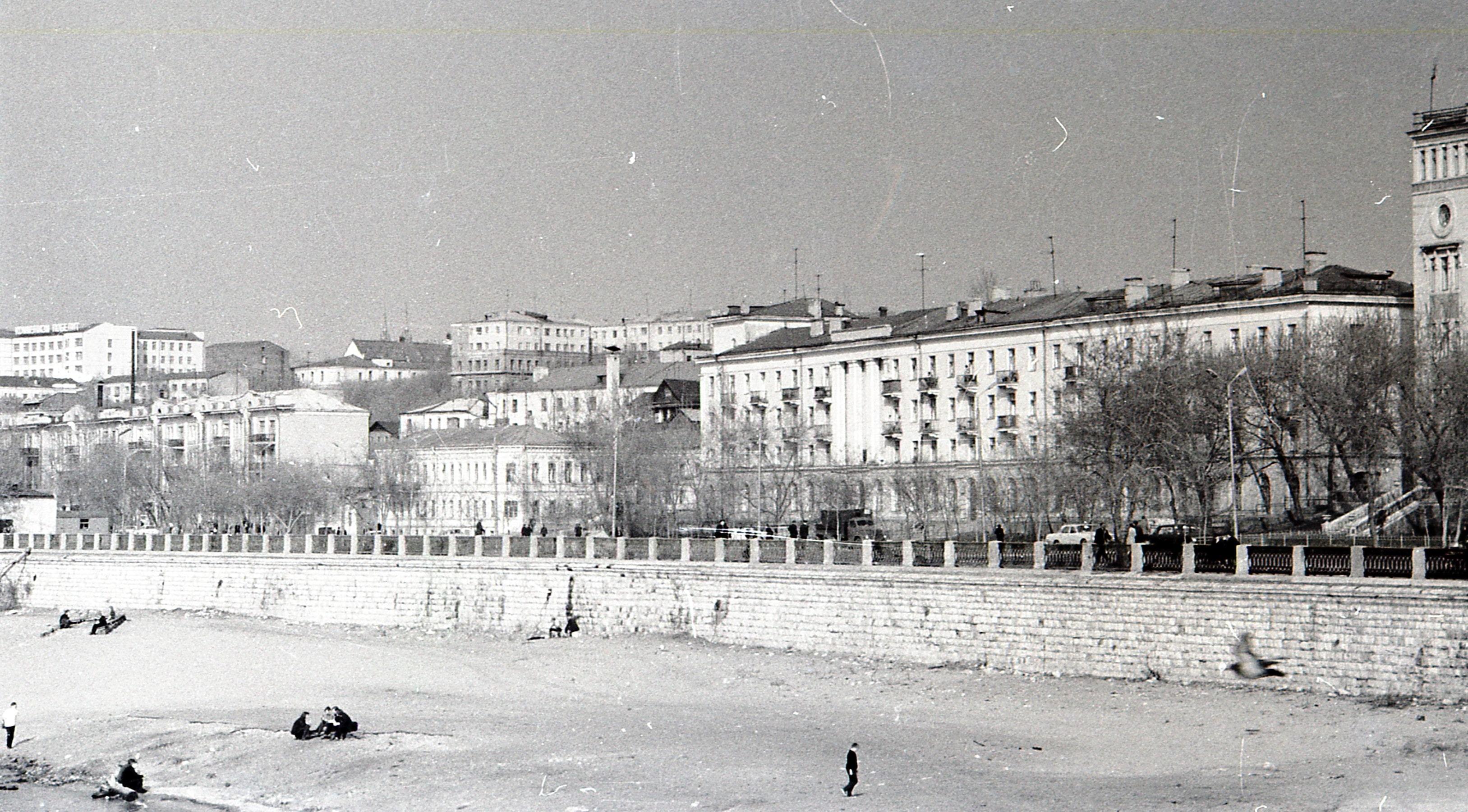 Вид на Самару с Набережной