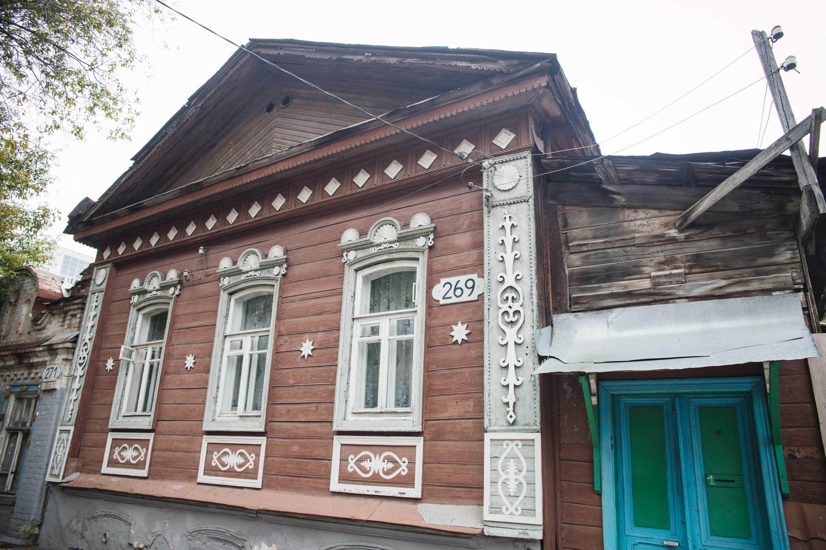 Деревянной дом на Садовой