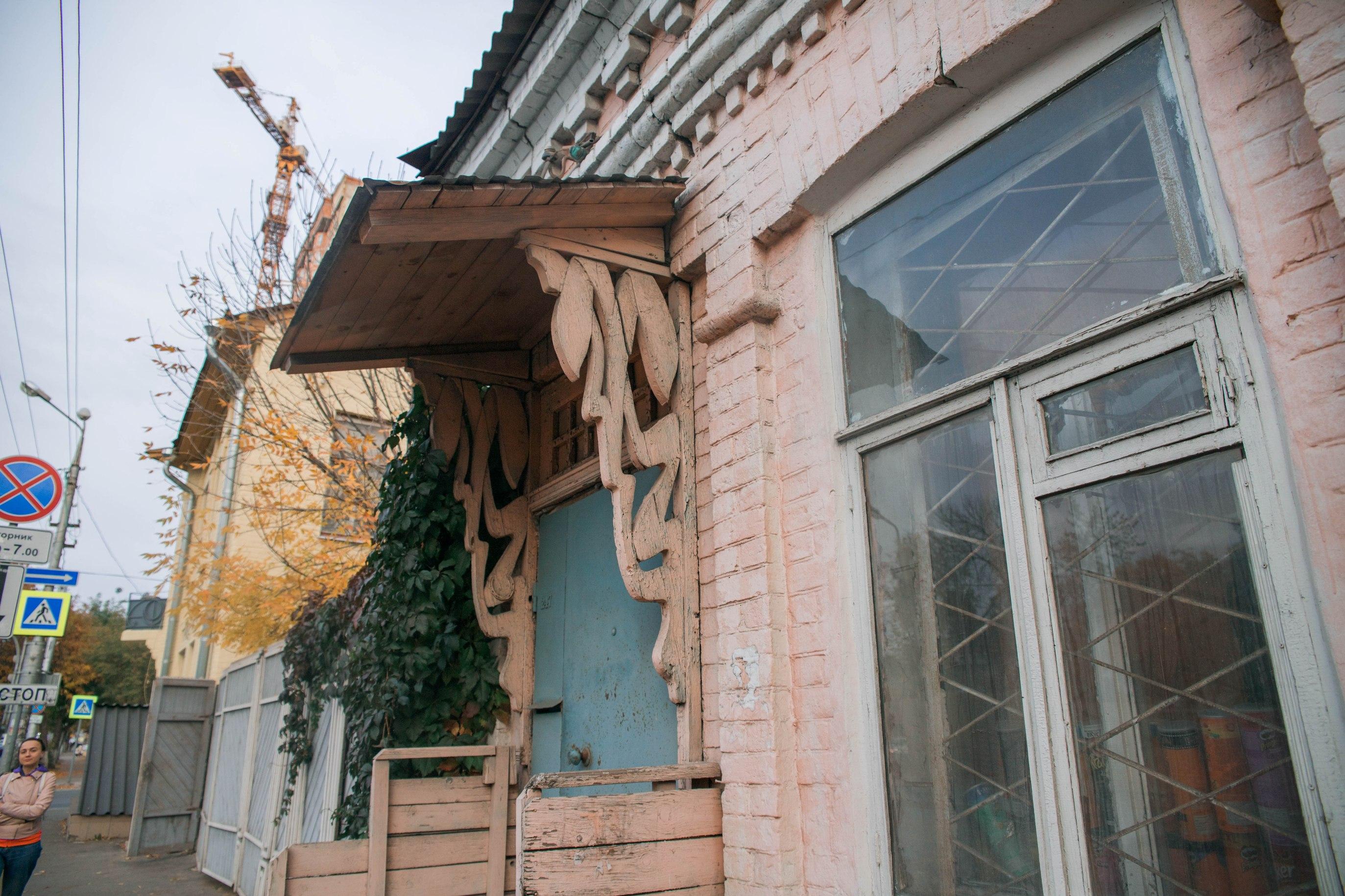 Деревянный дом с элементами модерна