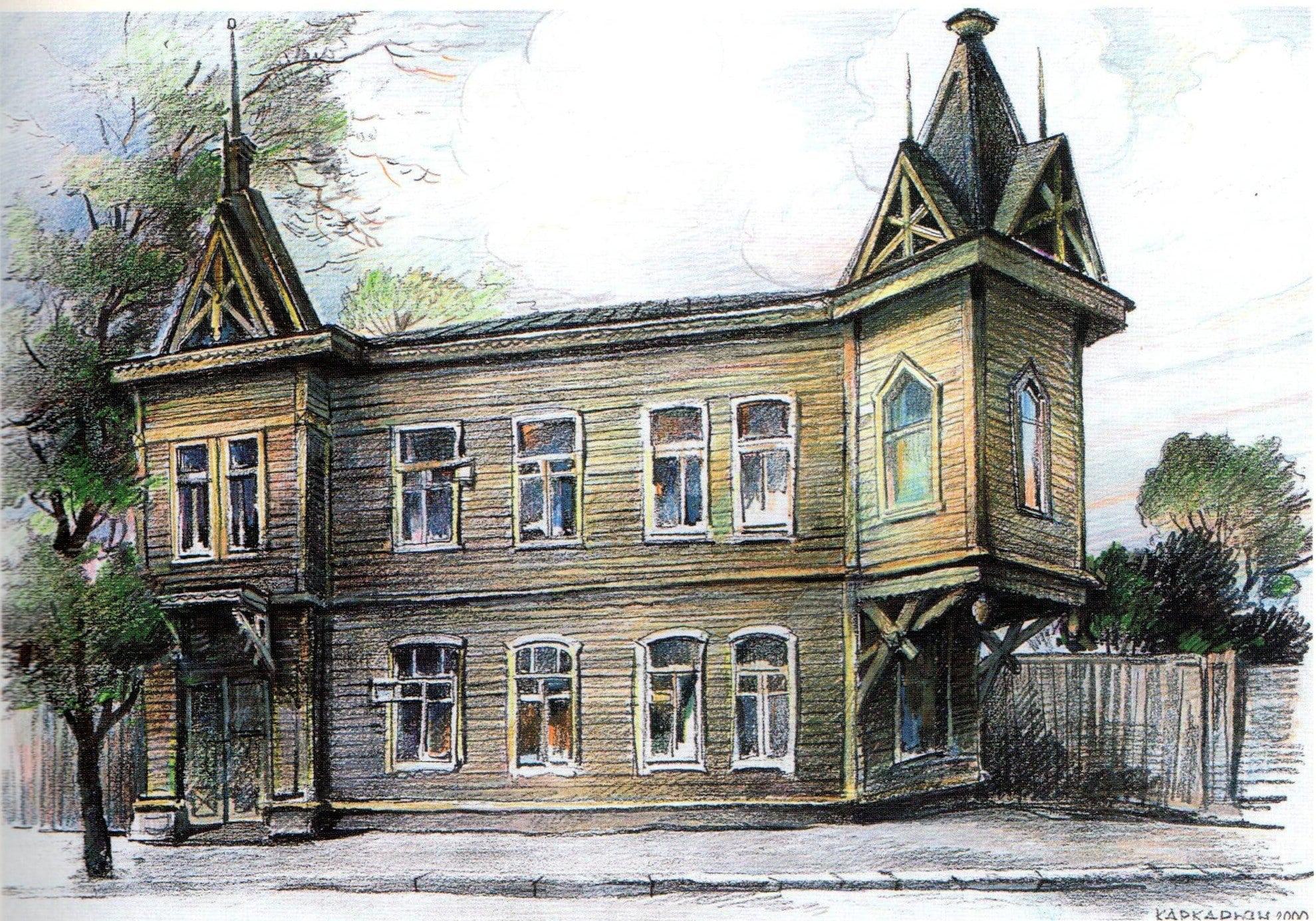 Дом Марии Тимрот на Самарской