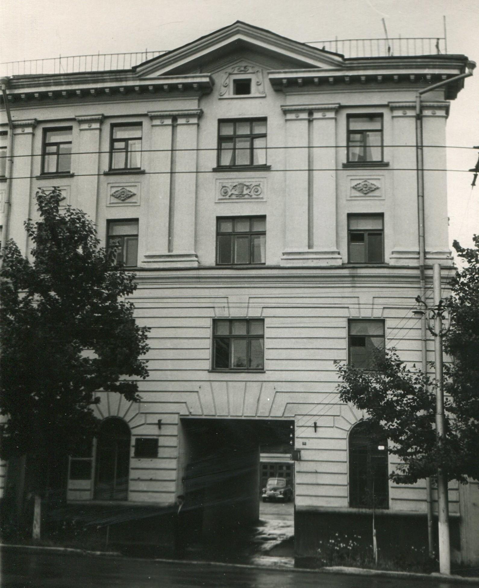 Дом Техснабнефти