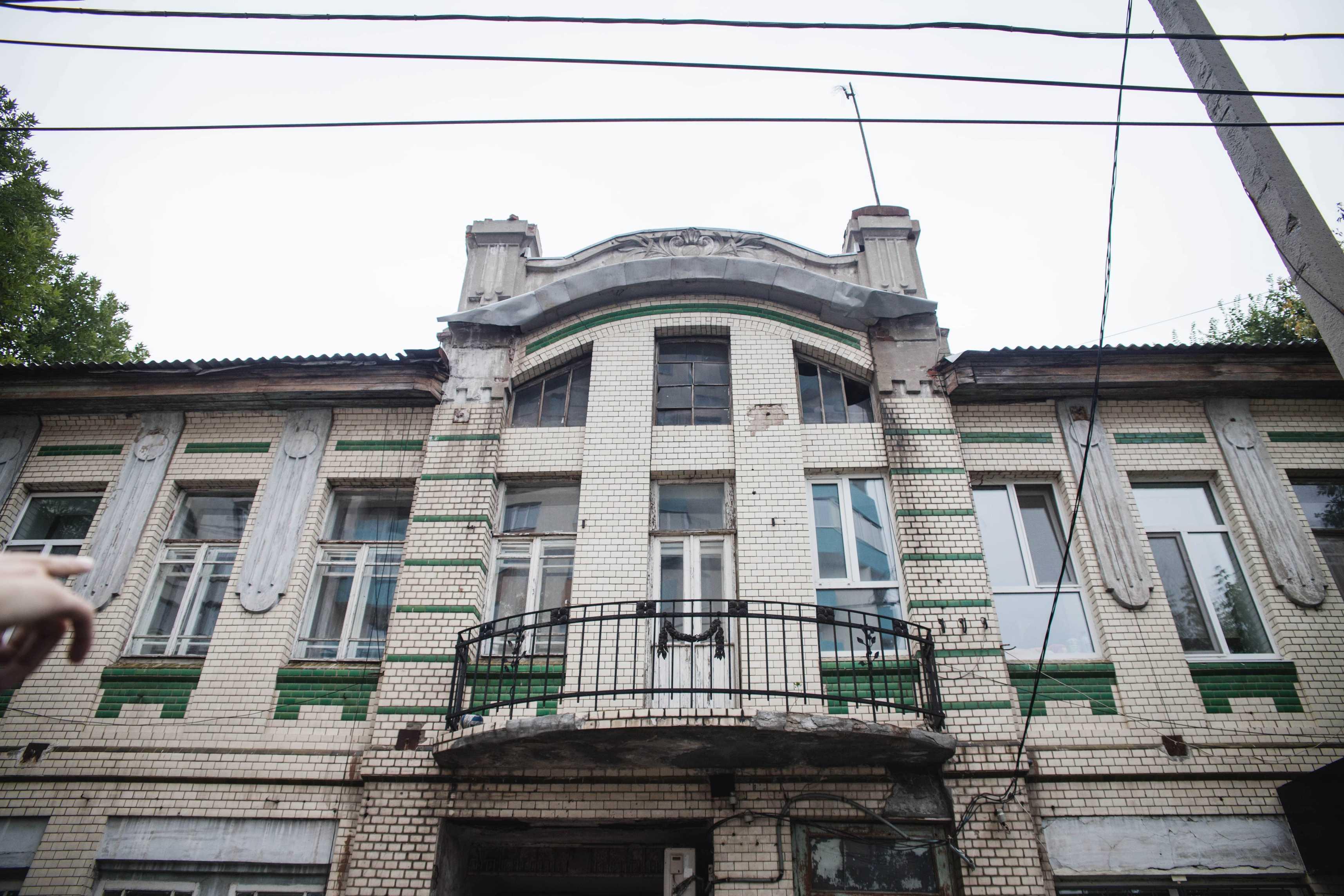 Дом в котором жил Афиногенов-Степной