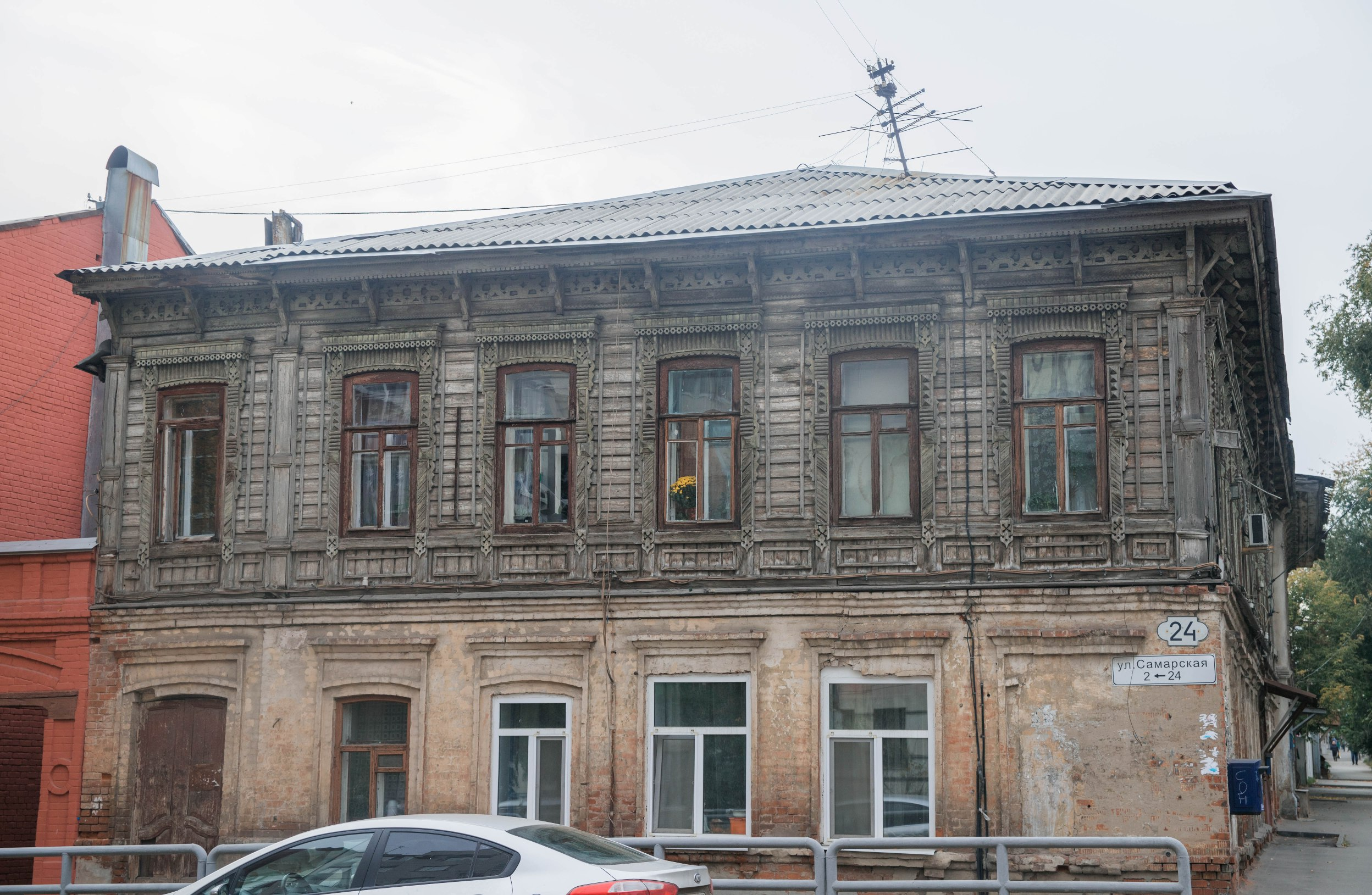 Дом мещанина Васильева на улице Самарской