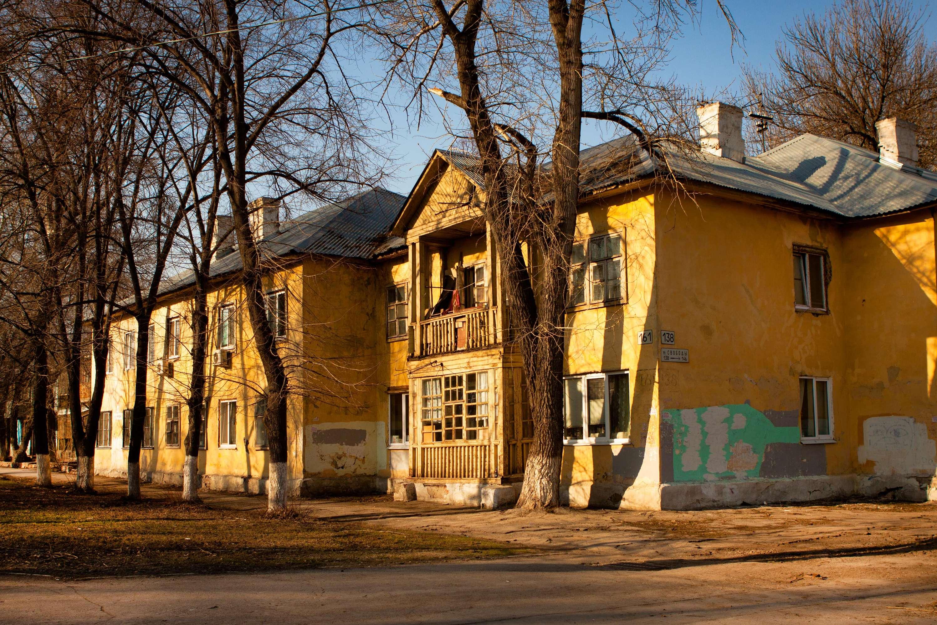 Застройка 1940 года на проспекте Кирова