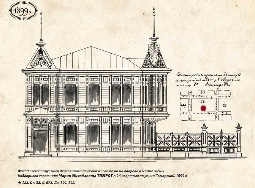 Проект дома Тимрот