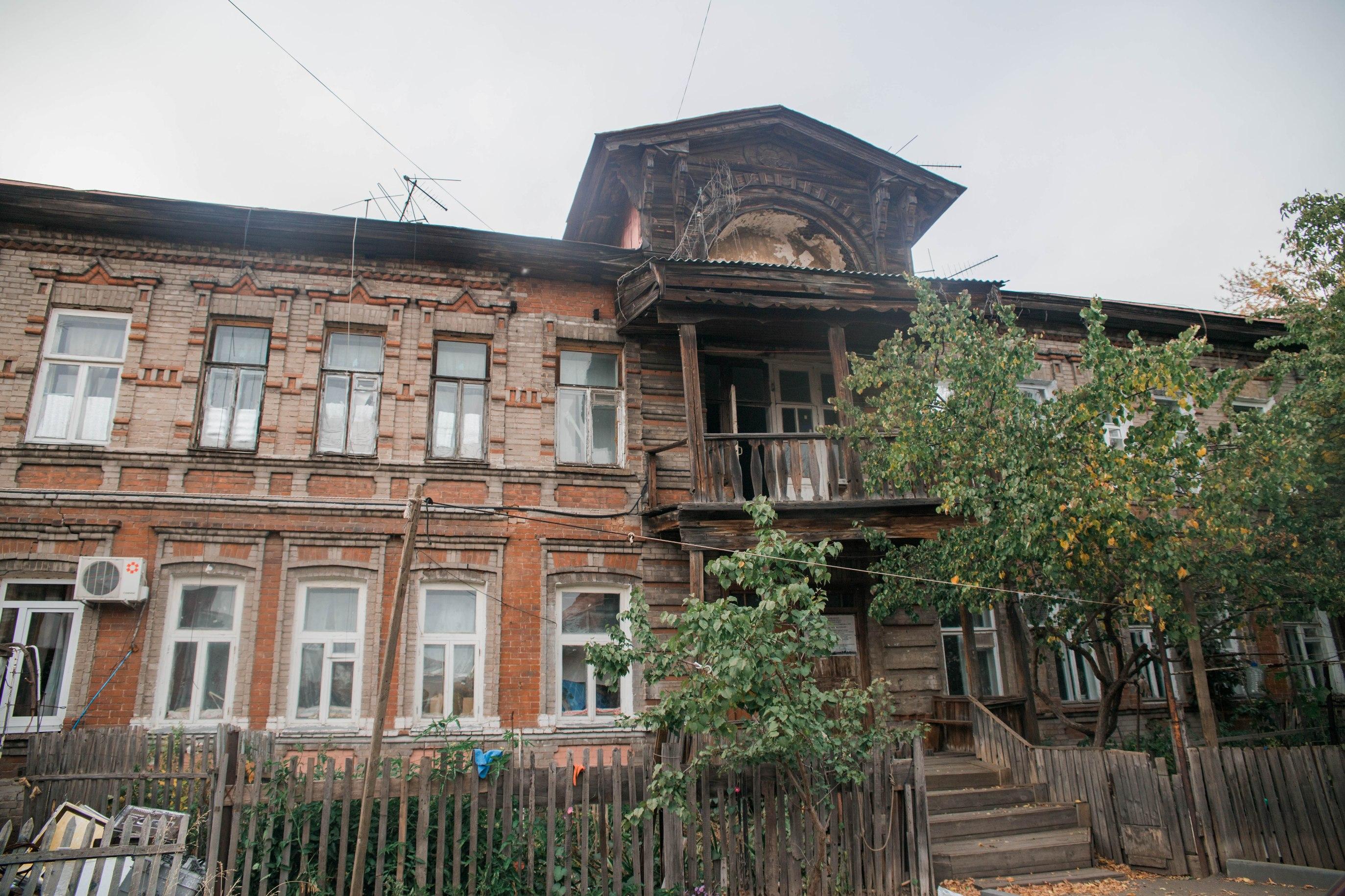 Самарская, 102 -- Дом во дворе