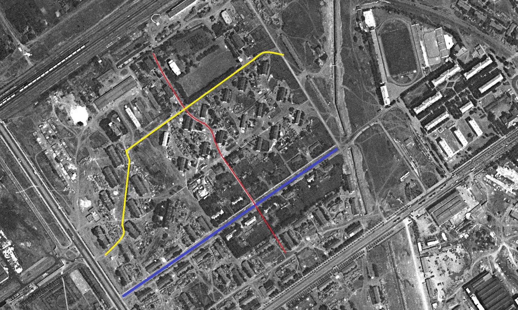 Саянский переулок 1967 год