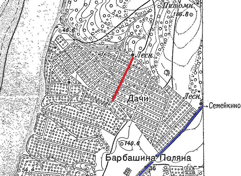 Карта Самары 1927 год